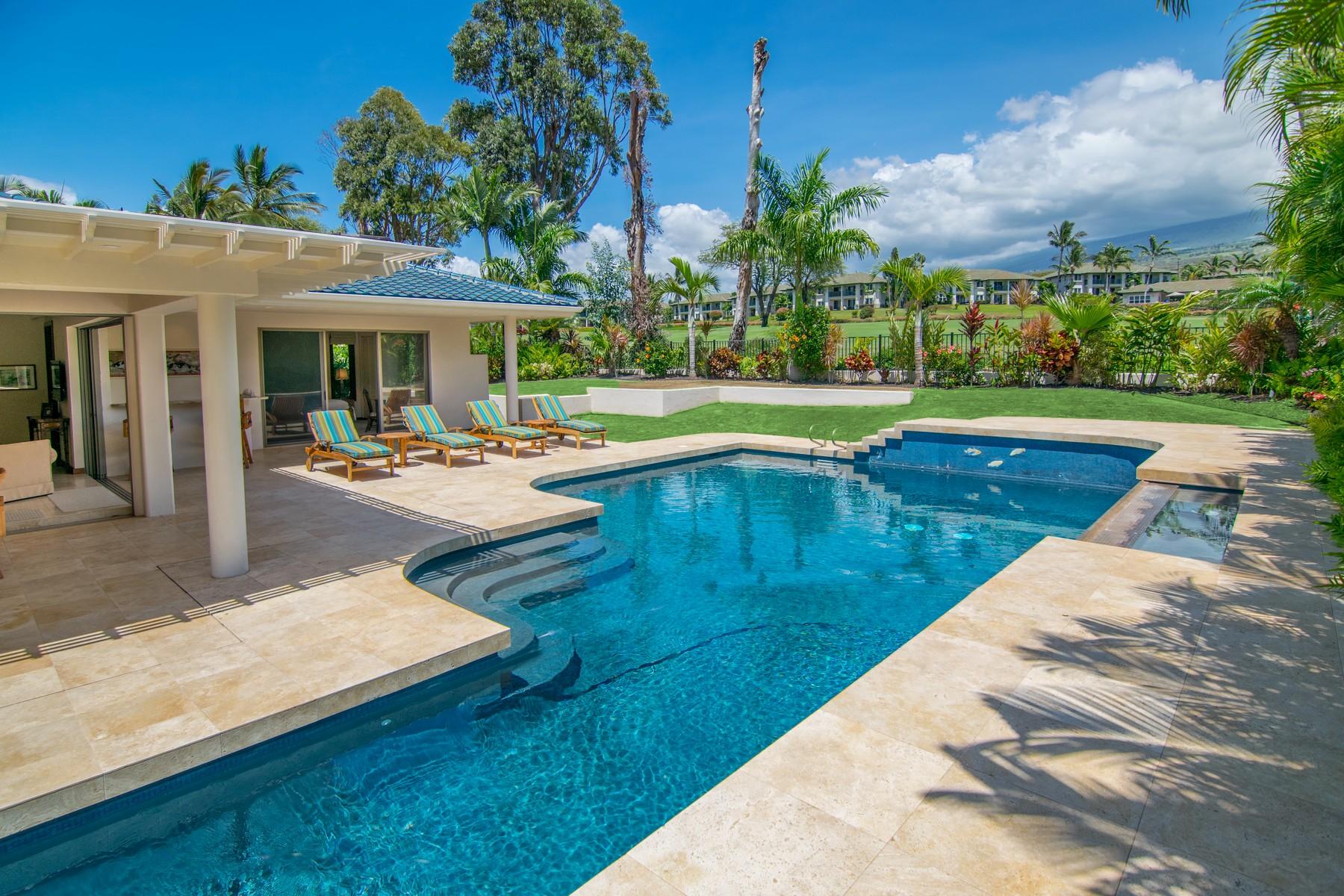 단독 가정 주택 용 매매 에 Wailea Golf Estates Elegance 3913 Wailea Ekolu Place Wailea, 하와이 96753 미국