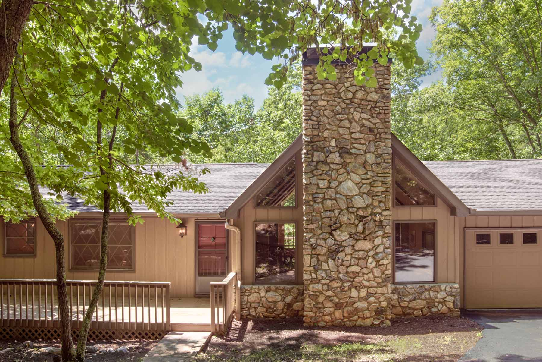 Single Family Home for Sale at Four Bedroom Home On a Creek 1 Hour North of Atlanta 183 Lone Wolf Trail Big Canoe, Georgia, 30143 United States