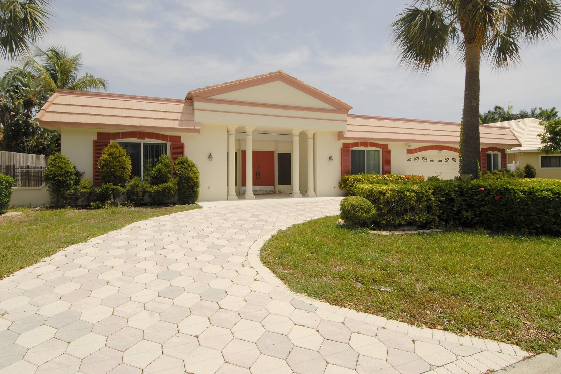 Casa para uma família para Venda às 3101 NE 56 CT Fort Lauderdale, Florida 33308 Estados Unidos