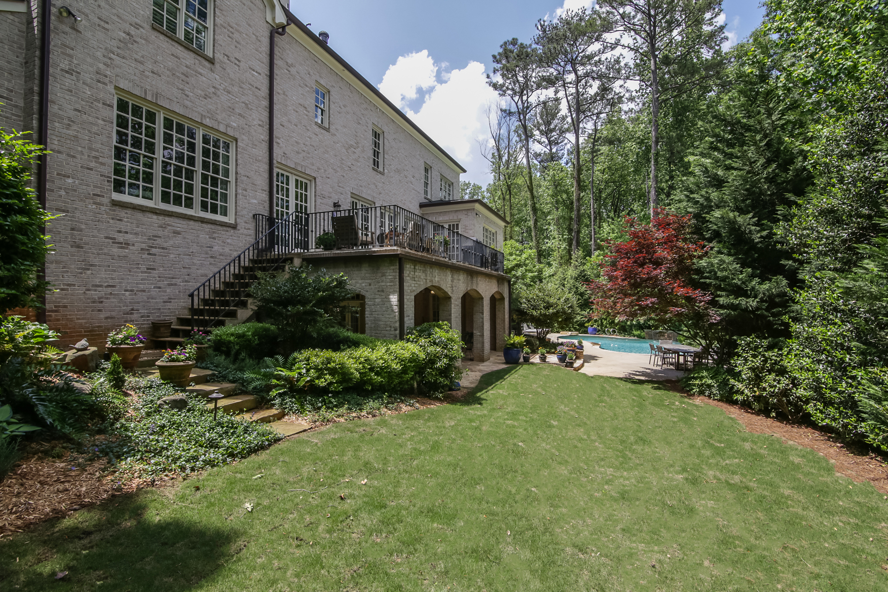 Additional photo for property listing at Private Estate In Chastain ParkBuckhead 4651 Dudley Lane Atlanta, Georgia 30327 États-Unis