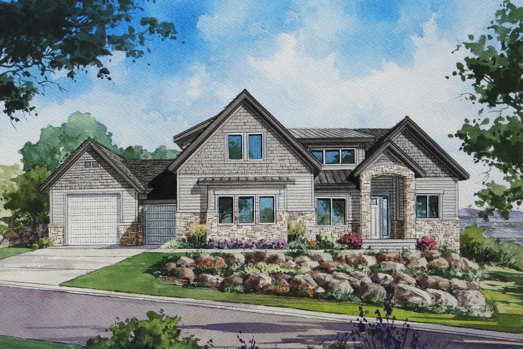 Moradia para Venda às New Custom Home in Steeple Chase 1836 E Aintree Ave Draper, Utah 84020 Estados Unidos