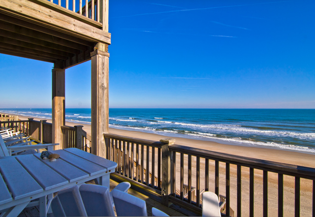 Duplex 용 매매 에 Exquisite Details in this Oceanfront home 2216A S. Shore Dr. Surf City, 노스캐놀라이나 28445 미국