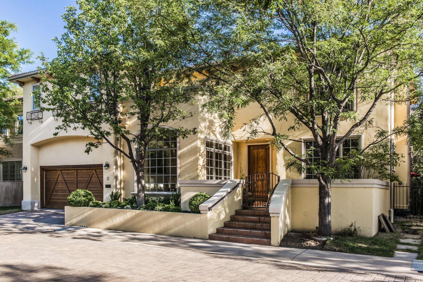 Single Family Home for Sale at Elegant and Sophisticated Mediterranean Style Home in Cherry Creek's Belcourt 100 South University #11 Cherry Creek, Denver, Colorado 80209 United States