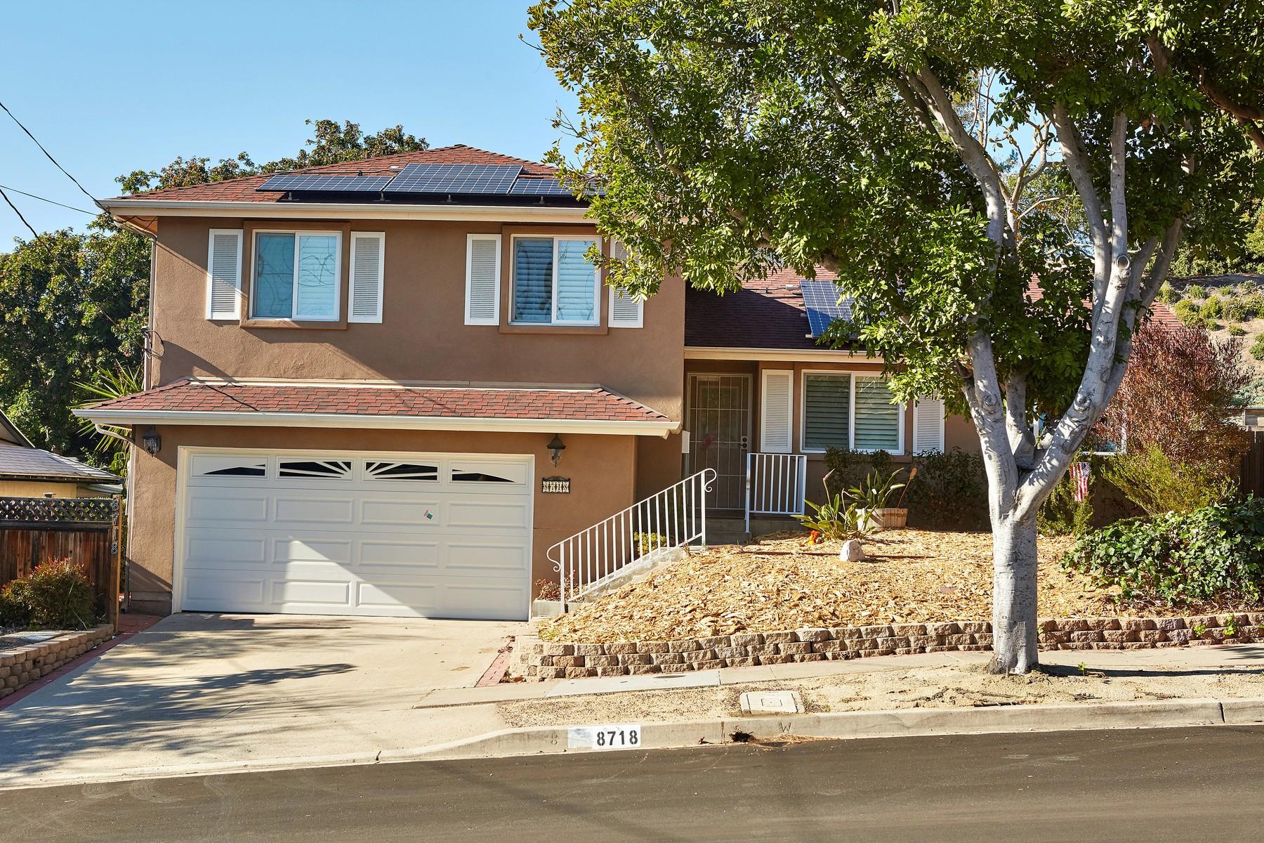 一戸建て のために 売買 アット 8718 Verlane Drive San Diego, カリフォルニア, 92119 アメリカ合衆国