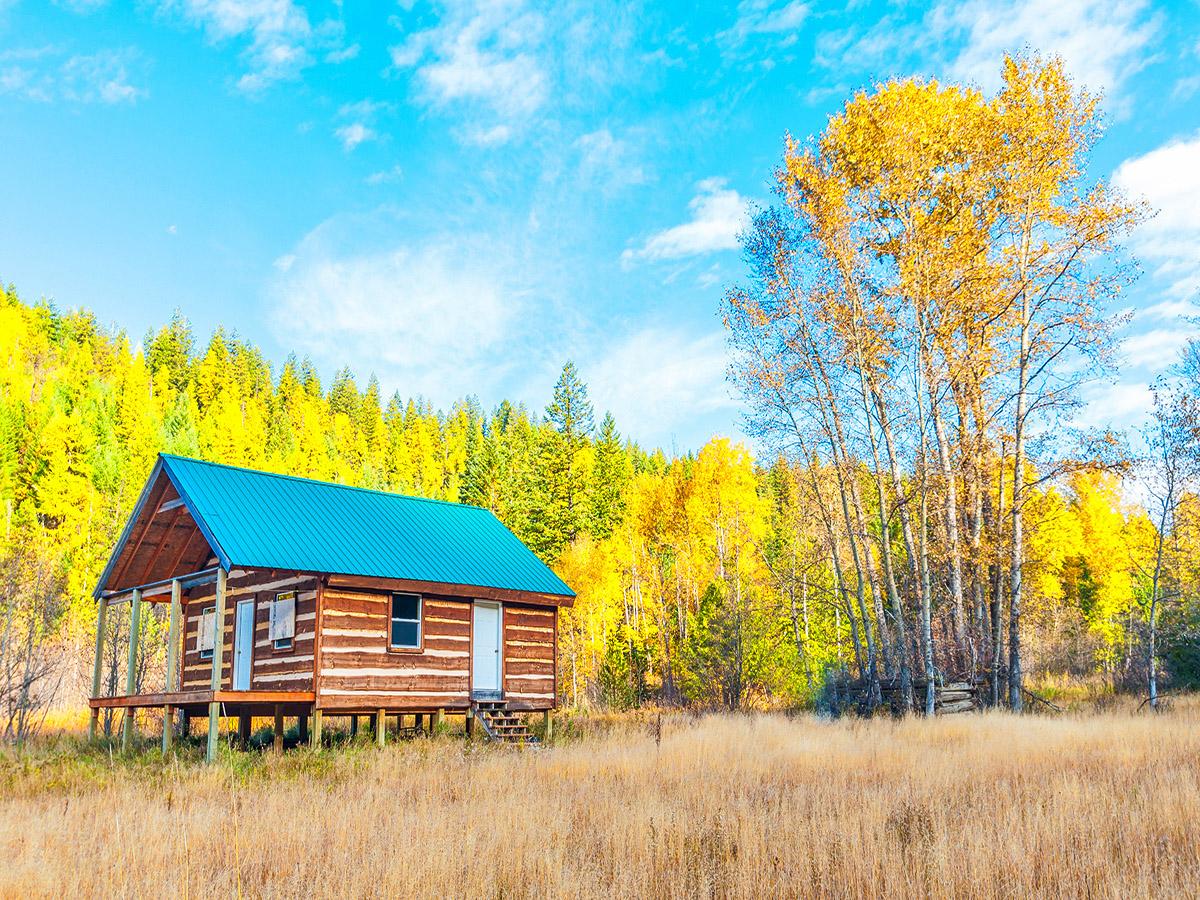 Земля для того Продажа на YOUR OWN PRIVATE IDAHO - 80 Acres & Cabin 1206 LOG CABIN ROAD Bonners Ferry, Айдахо 83805 Соединенные Штаты