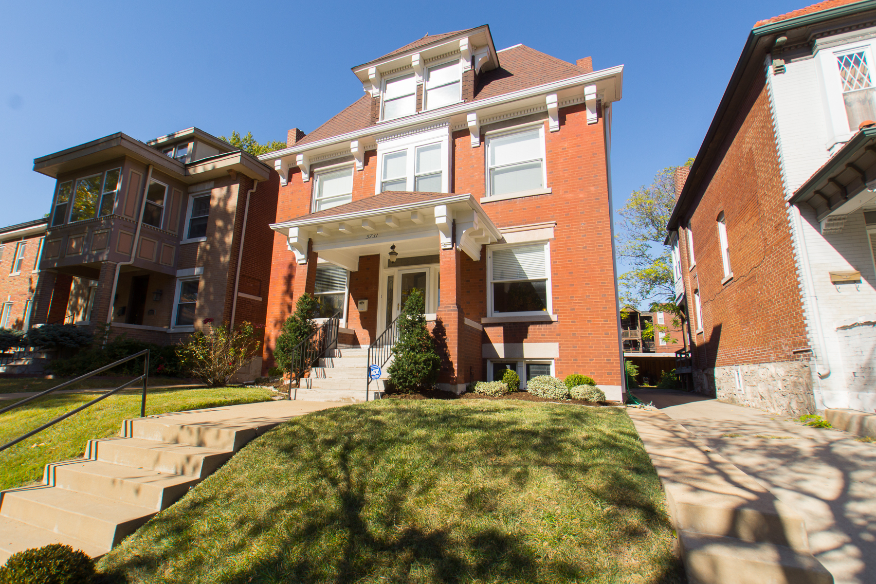 Single Family Home for Sale at Waterman Blvd 5731 Waterman Blvd St. Louis, Missouri, 63112 United States