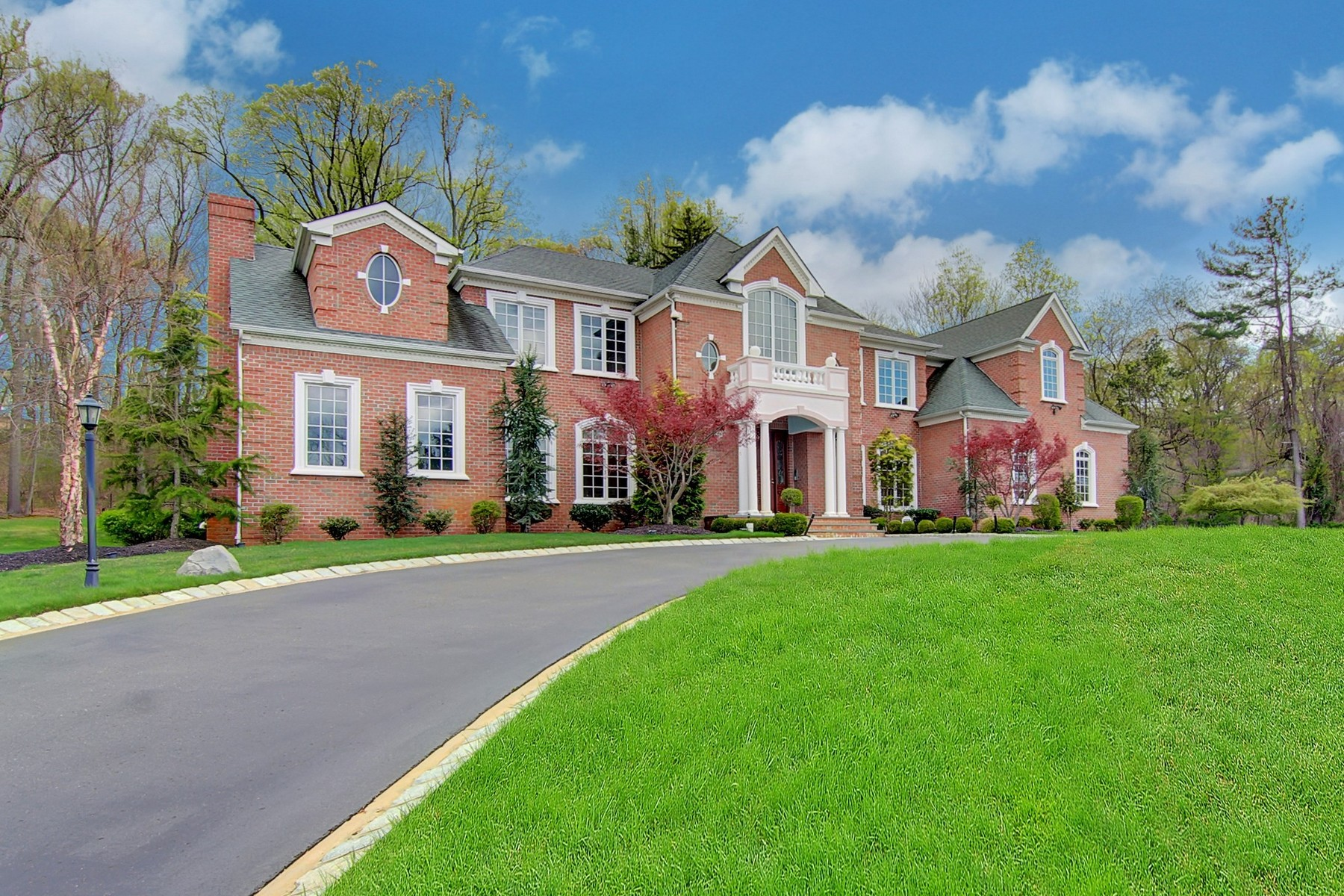 Single Family Home for Sale at Majestic Estate 216 Holland Road Holmdel, New Jersey 07733 United States