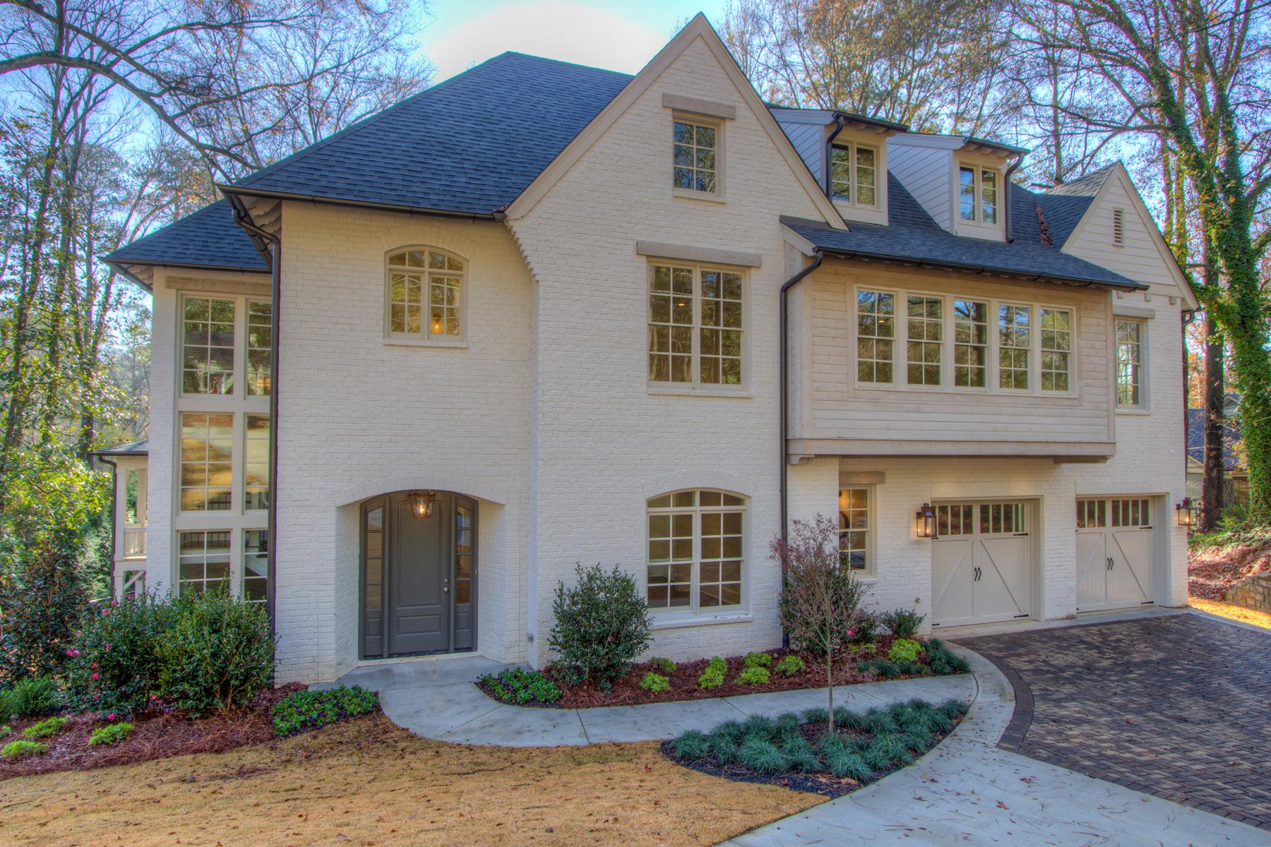獨棟家庭住宅 為 出售 在 Beautiful New Construction In Chastain Park 496 Broadland Road NW Chastain Park, Atlanta, 喬治亞州, 30342 美國