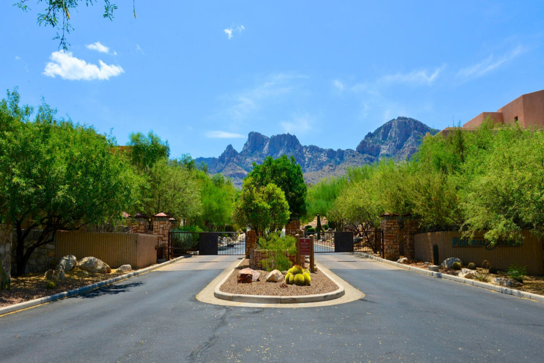 Property For Sale at Spectacular Lot Overlooking Canyon onto Pusch Ridge.