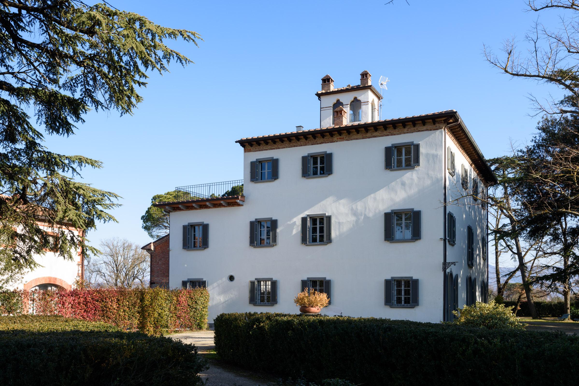 Villa per Vendita alle ore Magnifica villa nelle campagne di Arezzo Monte San Savino, Arezzo Italia