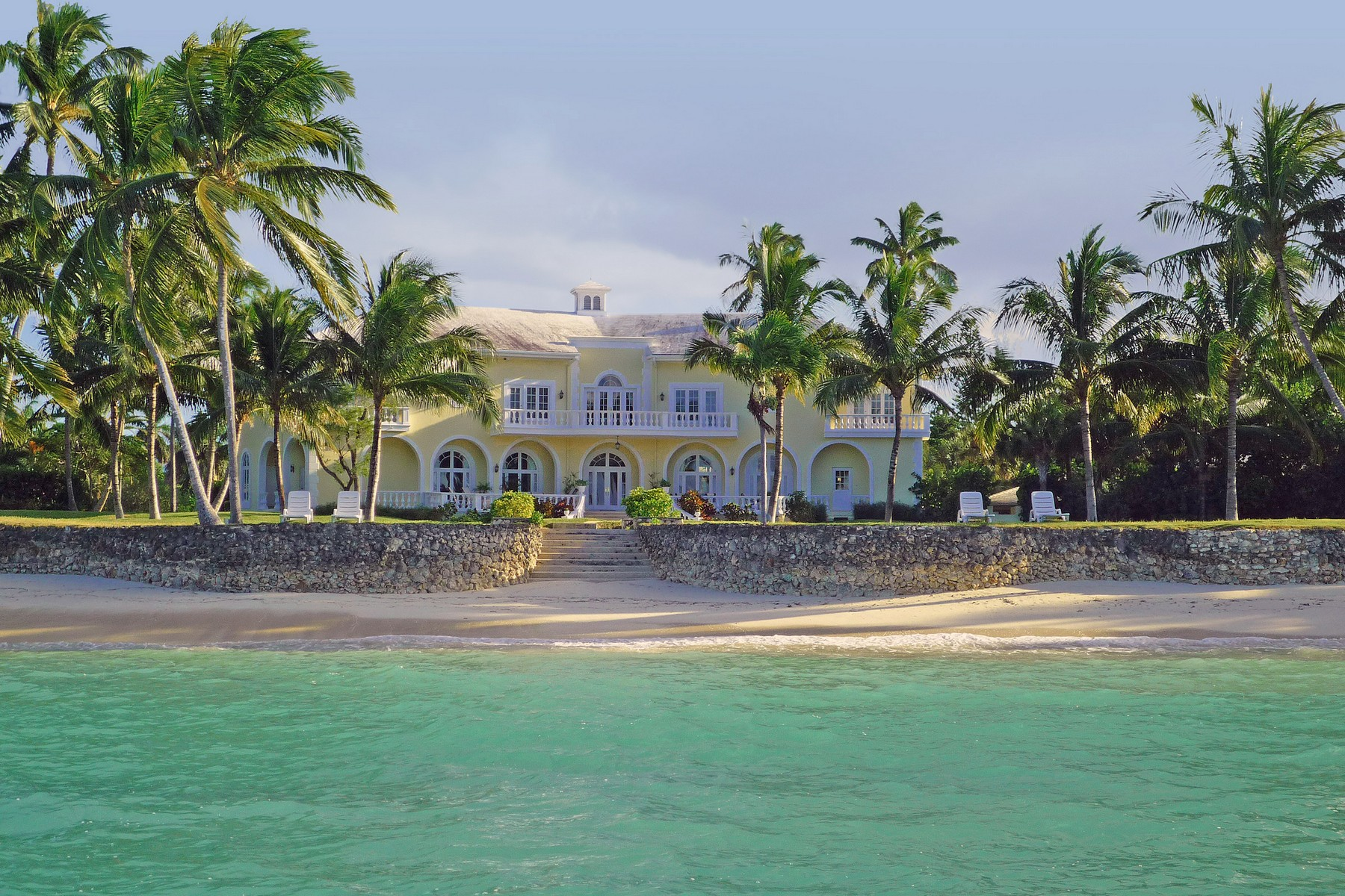 Single Family Home for Sale at Beachfront Estate Beachfront Estate Lyford Cay Drive Lyford Cay, Nassau And Paradise Island . Bahamas
