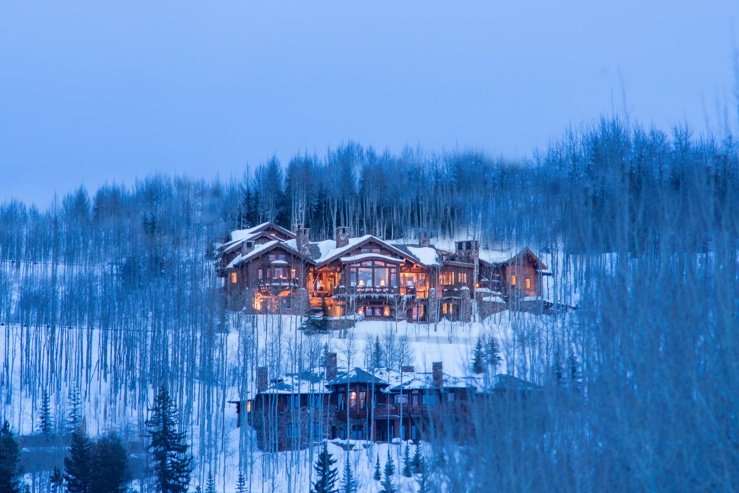 Single Family Home for Sale at Unrivaled European Estate in Bachelor Gulch 2150 Daybreak Ridge Beaver Creek, Colorado, 81620 United States