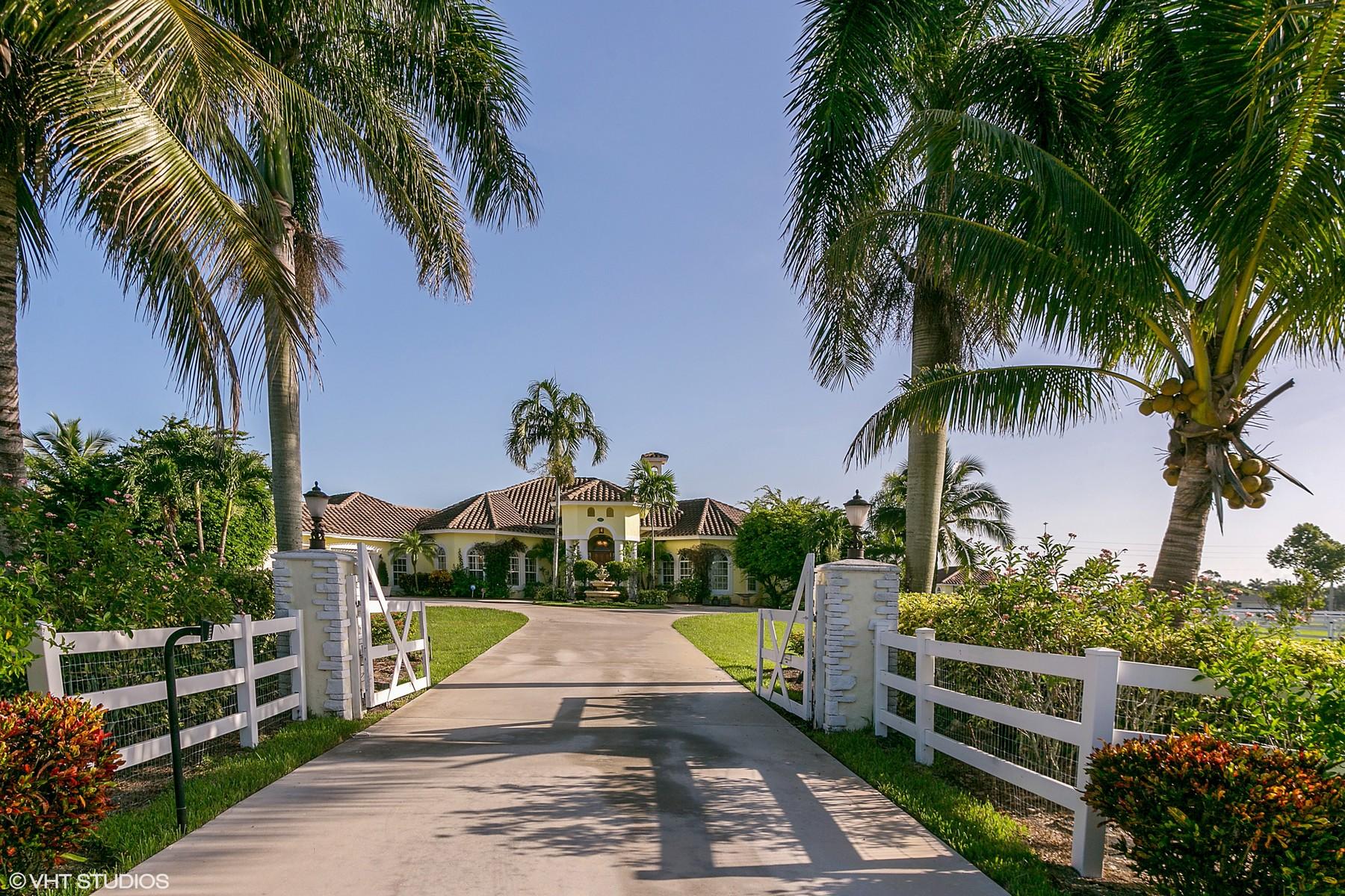 Casa para uma família para Venda às 15411 Palma Lane Palm Beach Point, Wellington, Florida, 33414 Estados Unidos