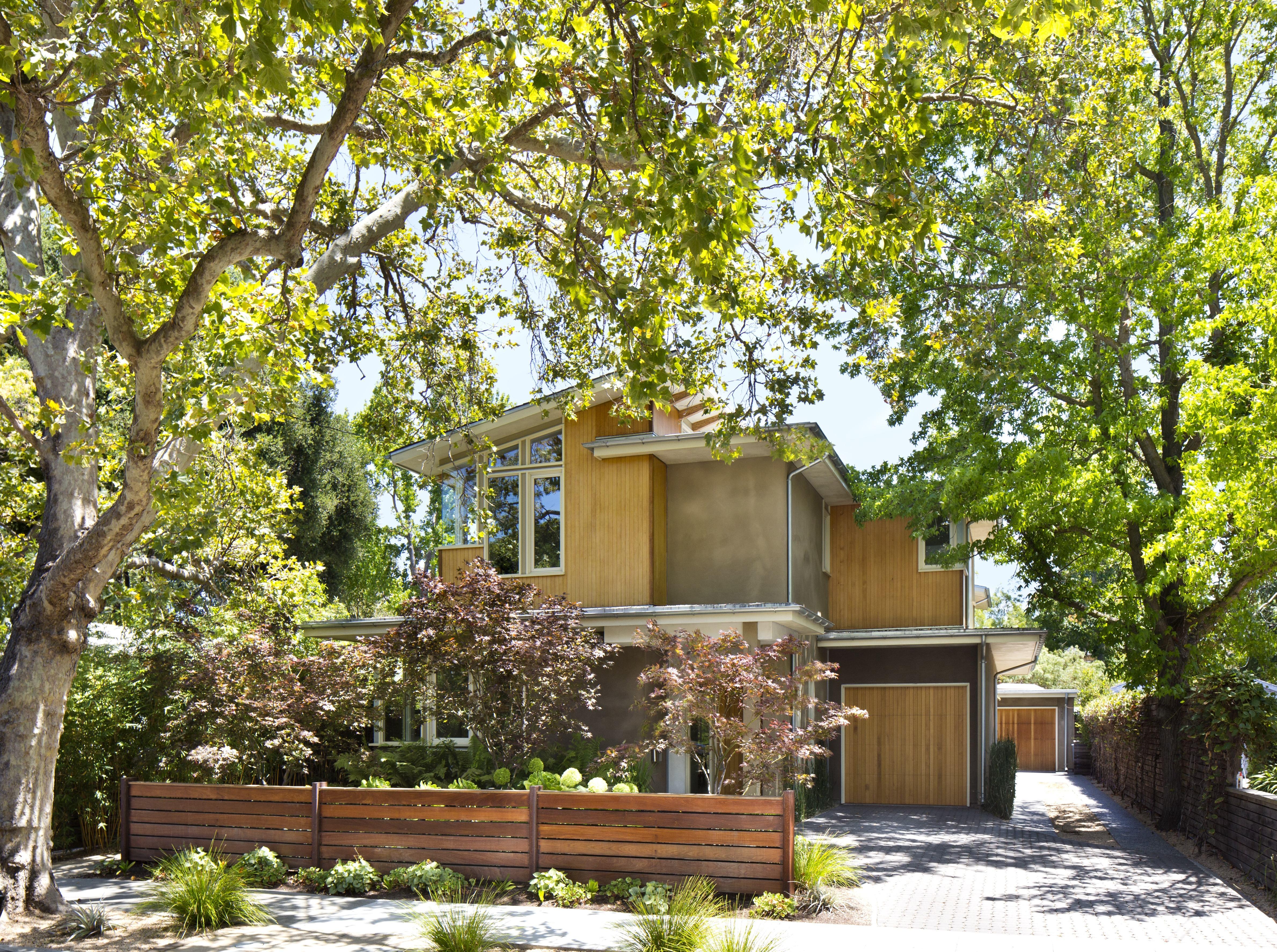 Maison unifamiliale pour l Vente à Old Palo Alto Contemporary 130 Rinconada Avenue Palo Alto, Californie 94301 États-Unis