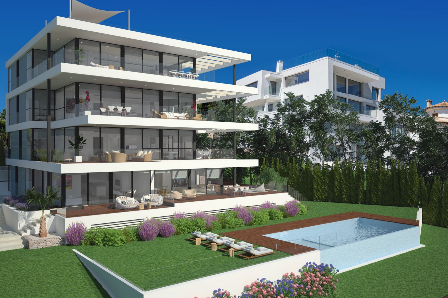 Apartment for Sale at Luxury, sea view garden apartments in Cas Catalá Bendinat, Mallorca, 07181 Spain