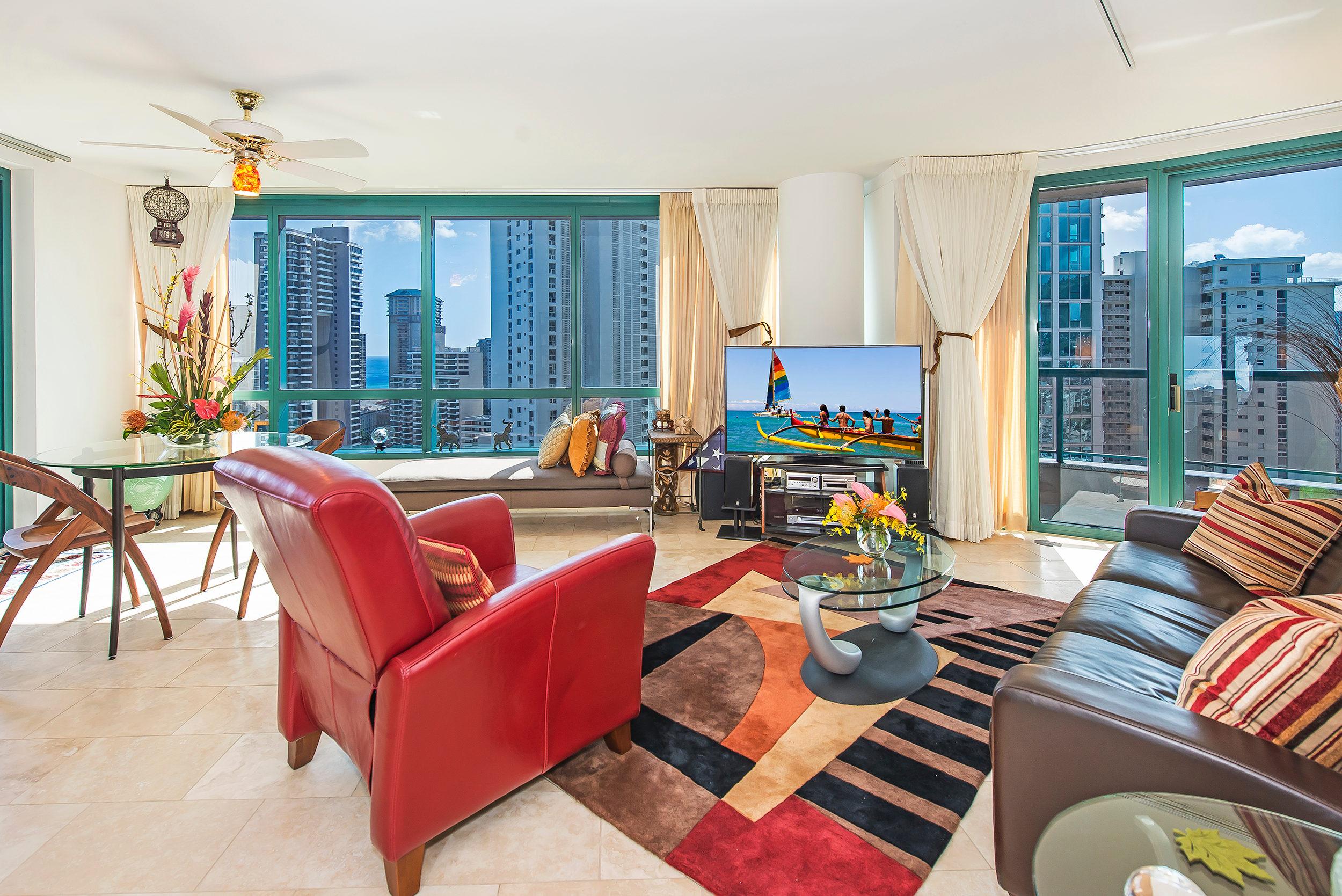 Condominium for Sale at Premier Waikiki Condominium 1888 Kalakaua Ave #2704 Waikiki, Honolulu, Hawaii 96815 United States