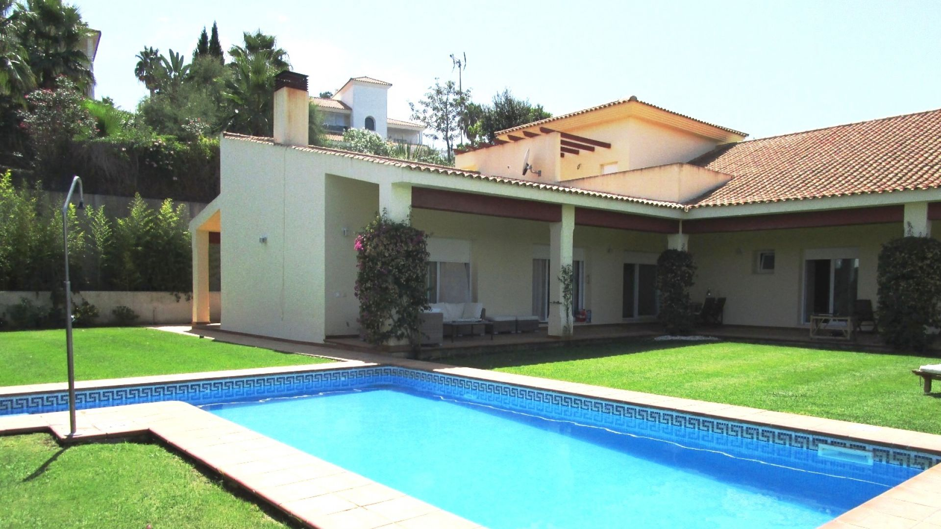 Single Family Home for Sale at Lovely L-shaped villa in Sotogrande Alto with breathtaking views 11310 Sotogrande (Sotogrande Alto), Cadiz (Spain) Other Spain, Other Areas In Spain, 11310 Spain