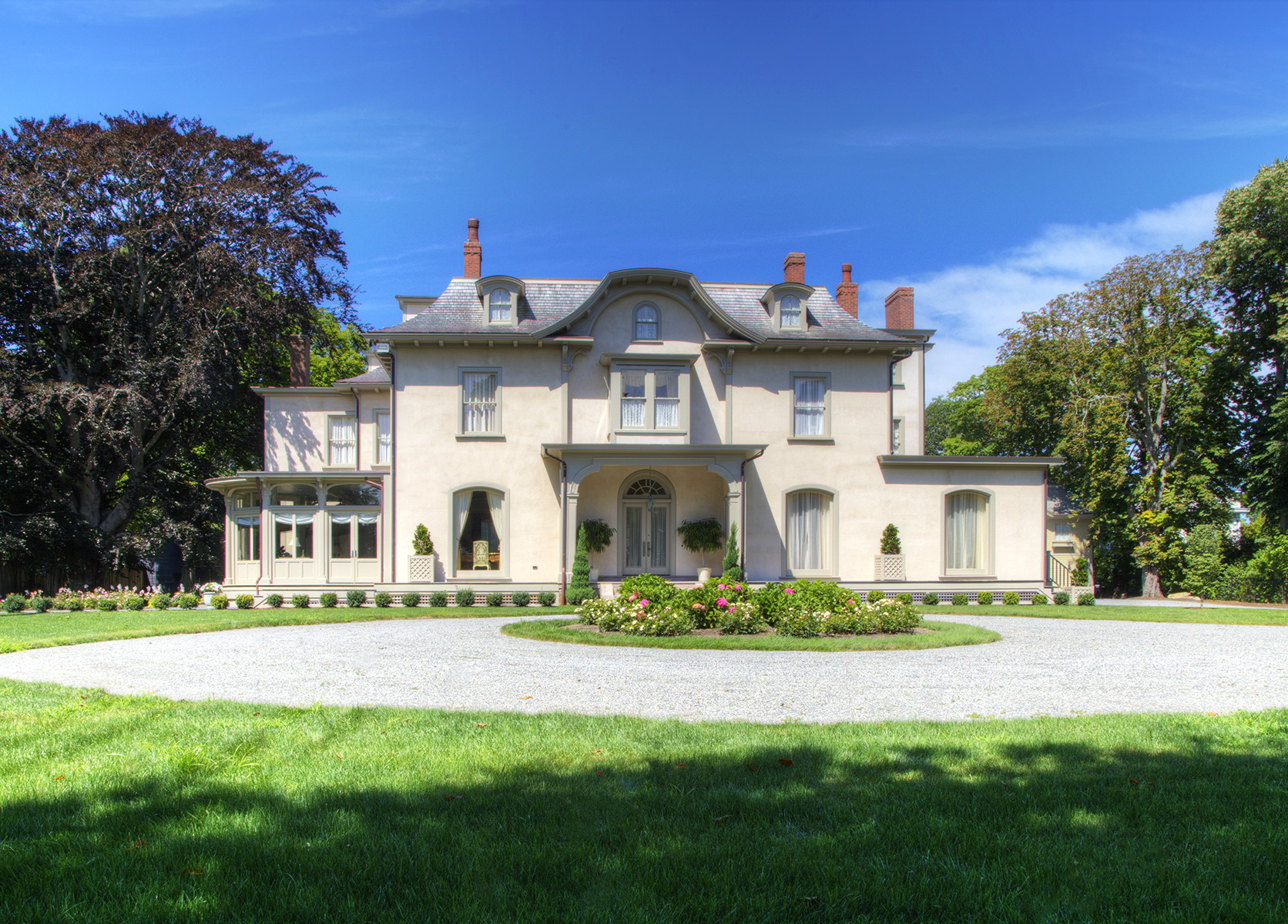 Single Family Home for Sale at Quatrel 673 Bellevue Avenue Newport, Rhode Island 02840 United States