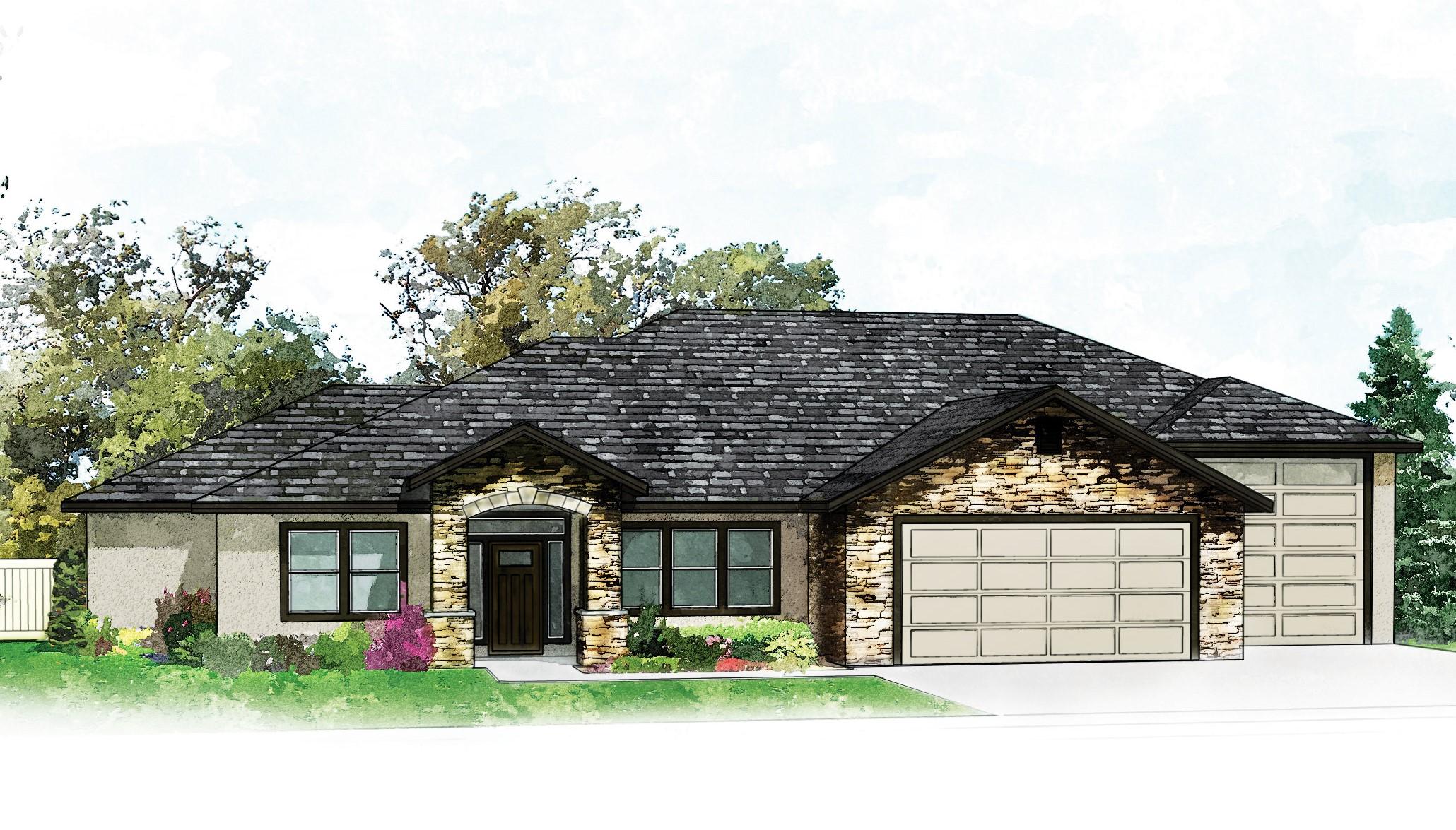 Maison unifamiliale pour l Vente à 2696 Afleet Avenue, Meridian 2696 S Afleet Ave Meridian, Idaho, 83709 États-Unis