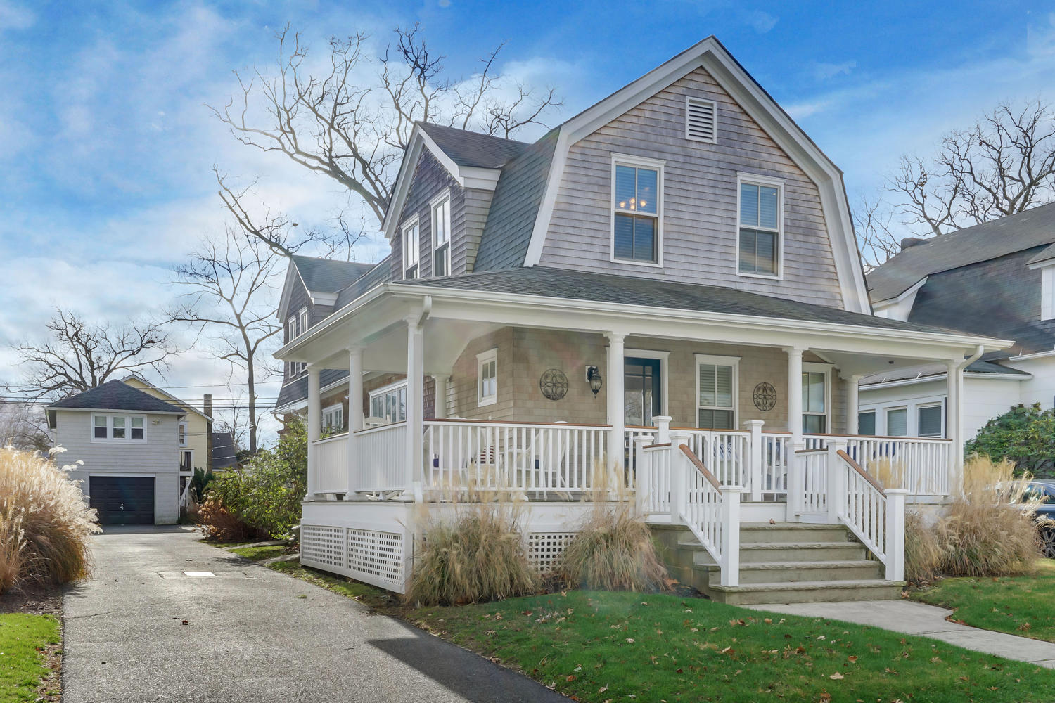 Single Family Home for Sale at A Classic Spring Lake Residence! 411 Jersey Avenue Spring Lake, New Jersey 07762 United States