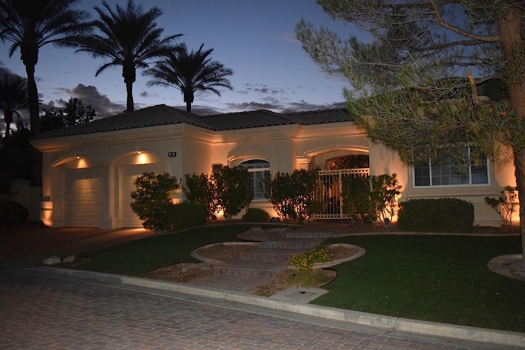 Einfamilienhaus für Verkauf beim 46 Camininto Amore 46 Caminito Amore Henderson, Nevada 89011 Vereinigte Staaten