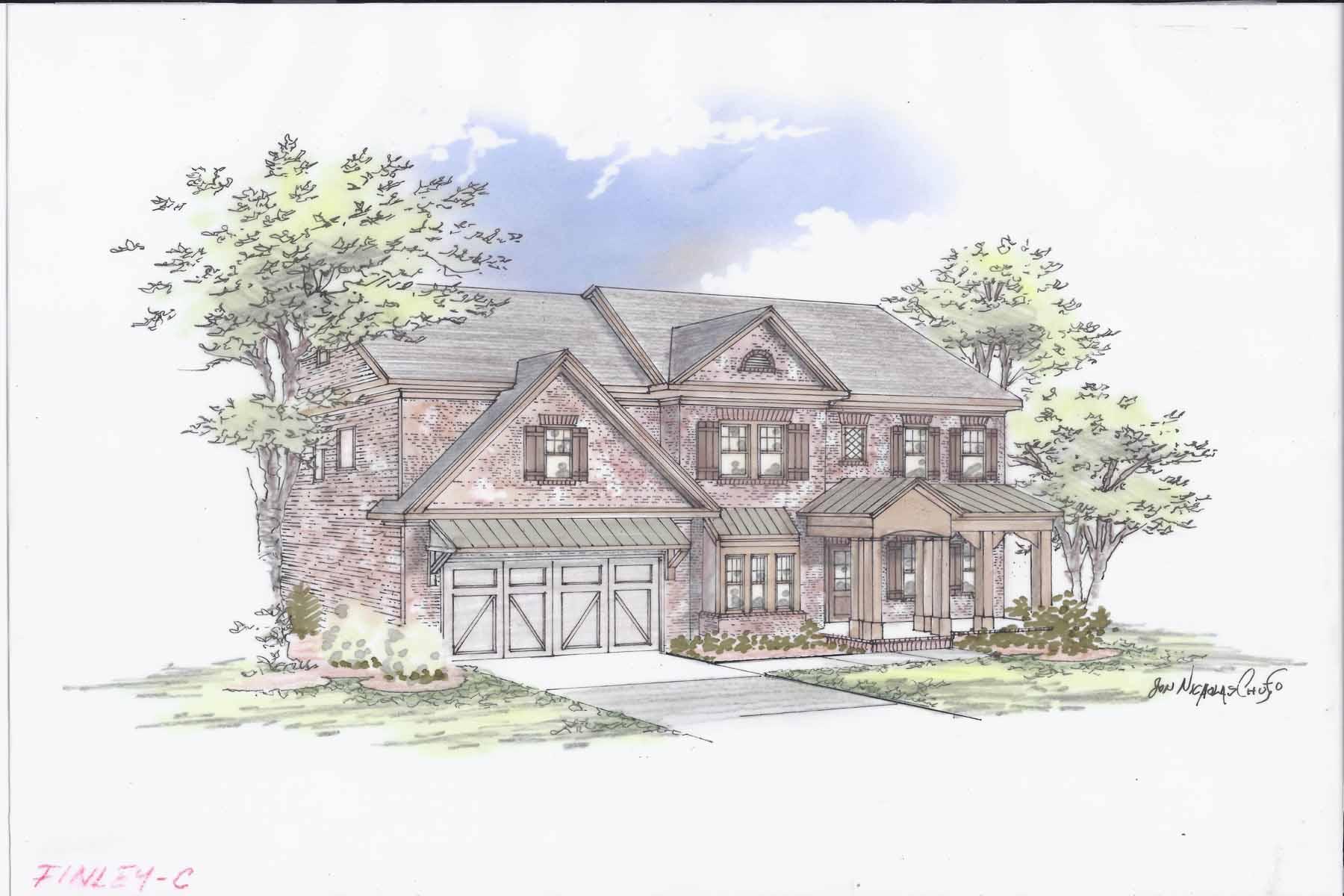 Moradia para Venda às Beautiful new construction in the heart of Buckhead! 1775 Warren Court NW Atlanta, Geórgia, 30318 Estados Unidos