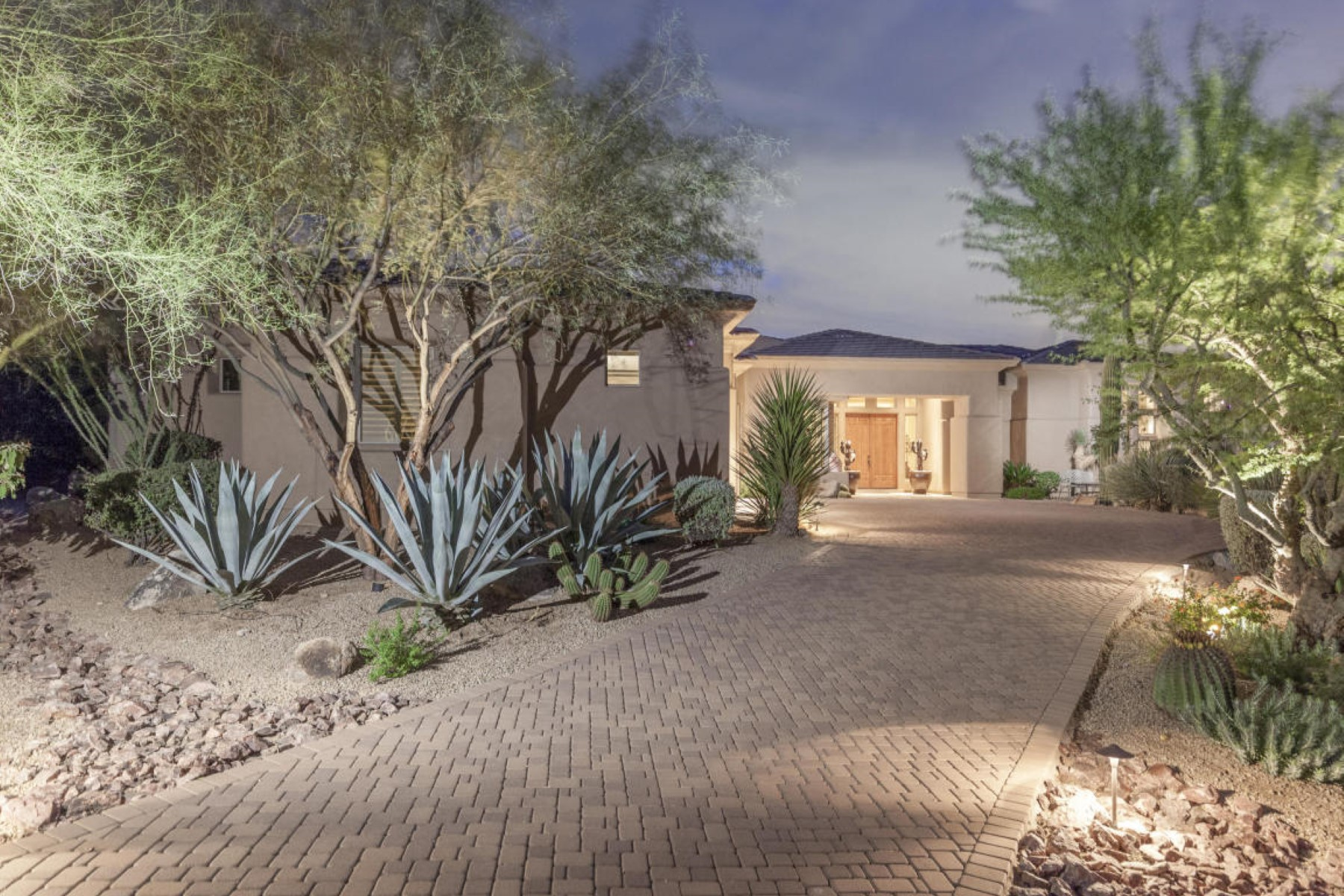 Single Family Home for Sale at Prestine in Candlewood Estates 10439 E Monument Drive Scottsdale, Arizona, 85262 United States