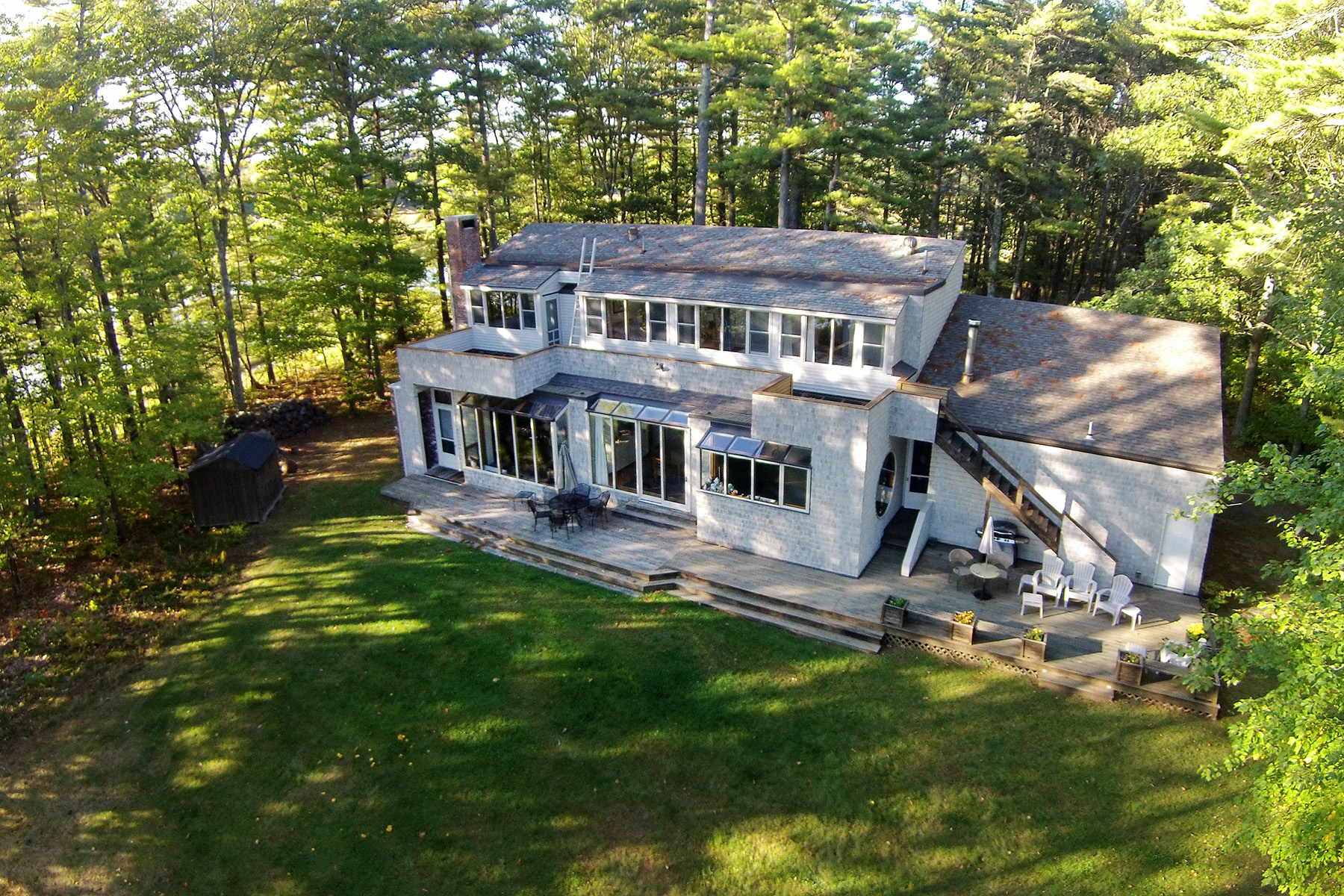 Single Family Home for Sale at Pogy Lane 43 Pogy Lane Brunswick, Maine 04011 United States