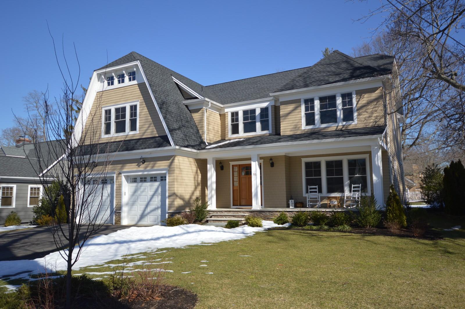 Частный односемейный дом для того Продажа на Quality New Construction 55 Bingham Ave. Rumson, Нью-Джерси 07760 Соединенные Штаты