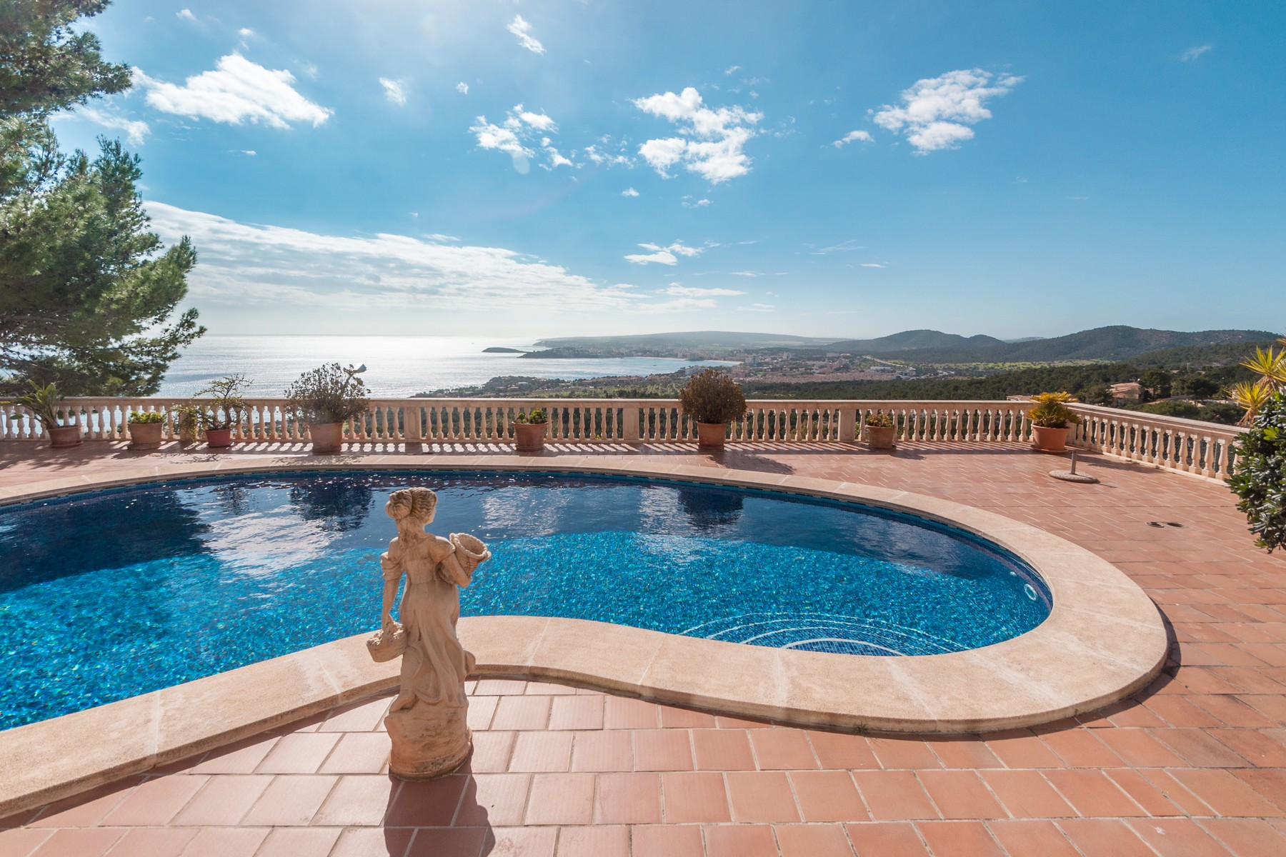 Single Family Home for Sale at Villa with stunning sea views in Costa d´en Blanes Costa Den Blanes, Mallorca, 07181 Spain