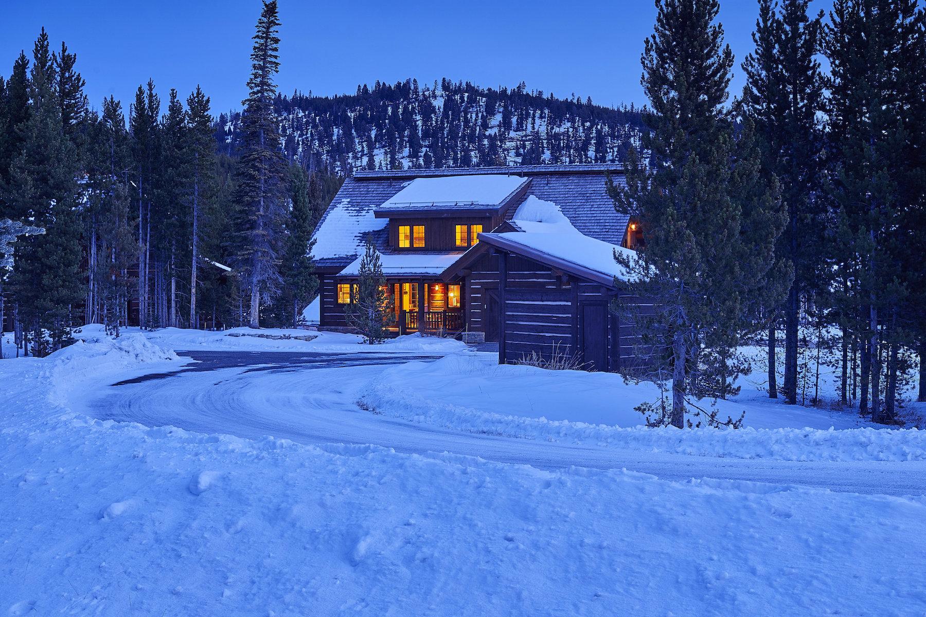 一戸建て のために 売買 アット Spanish Peaks Mountain Club Cabin 39 Homestead Cabin Fork Big Sky, モンタナ 59716 アメリカ合衆国