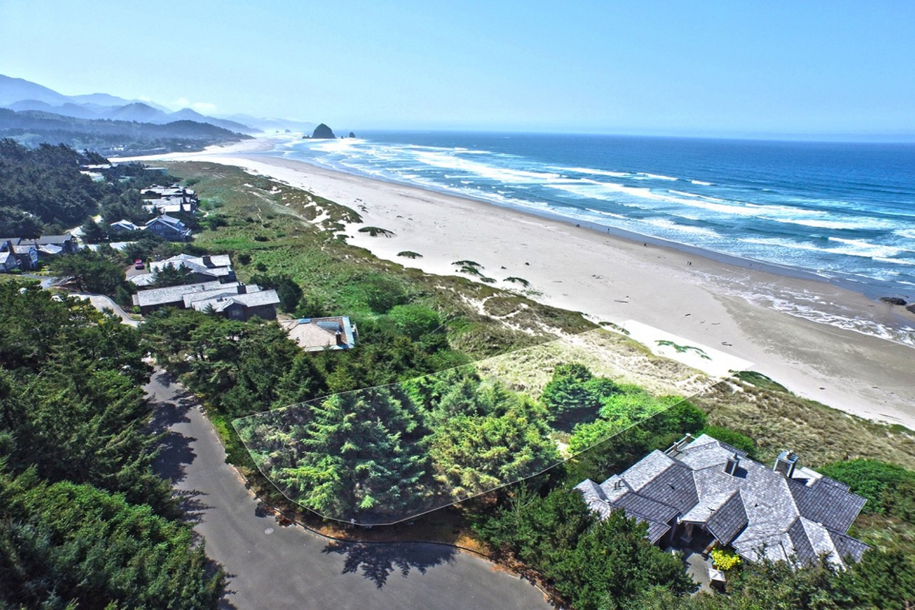 Đất đai vì Bán tại Oceanfront Lot in Chapman Point Oak Court Chapman Point Cannon Beach, Oregon 97110 Hoa Kỳ
