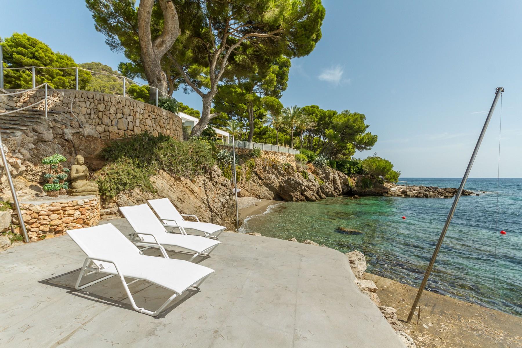 Villa With Private Beach In Costa De Los Pinos