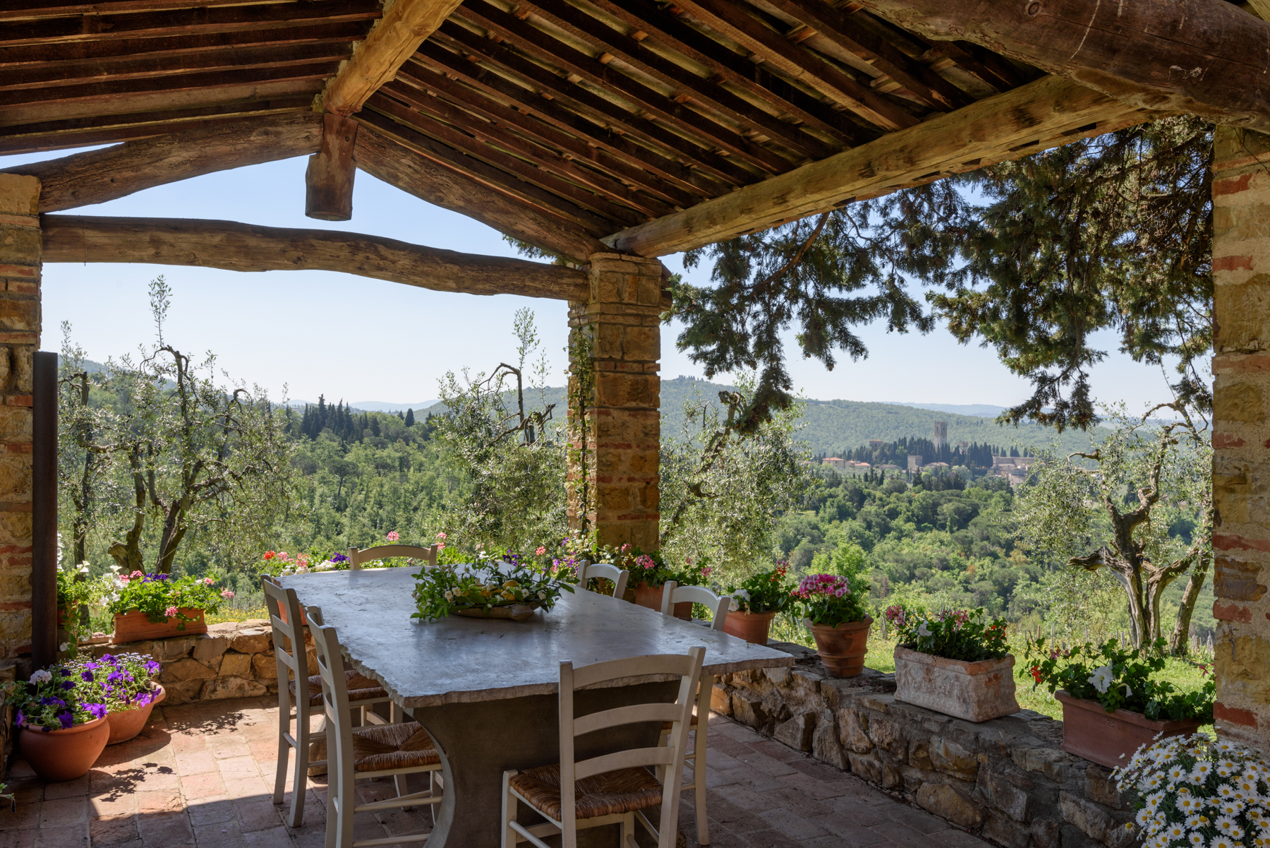 Single Family Home for Sale at Perfect Country home near Florence Badia a Passignano Greve In Chianti, Florence 50022 Italy