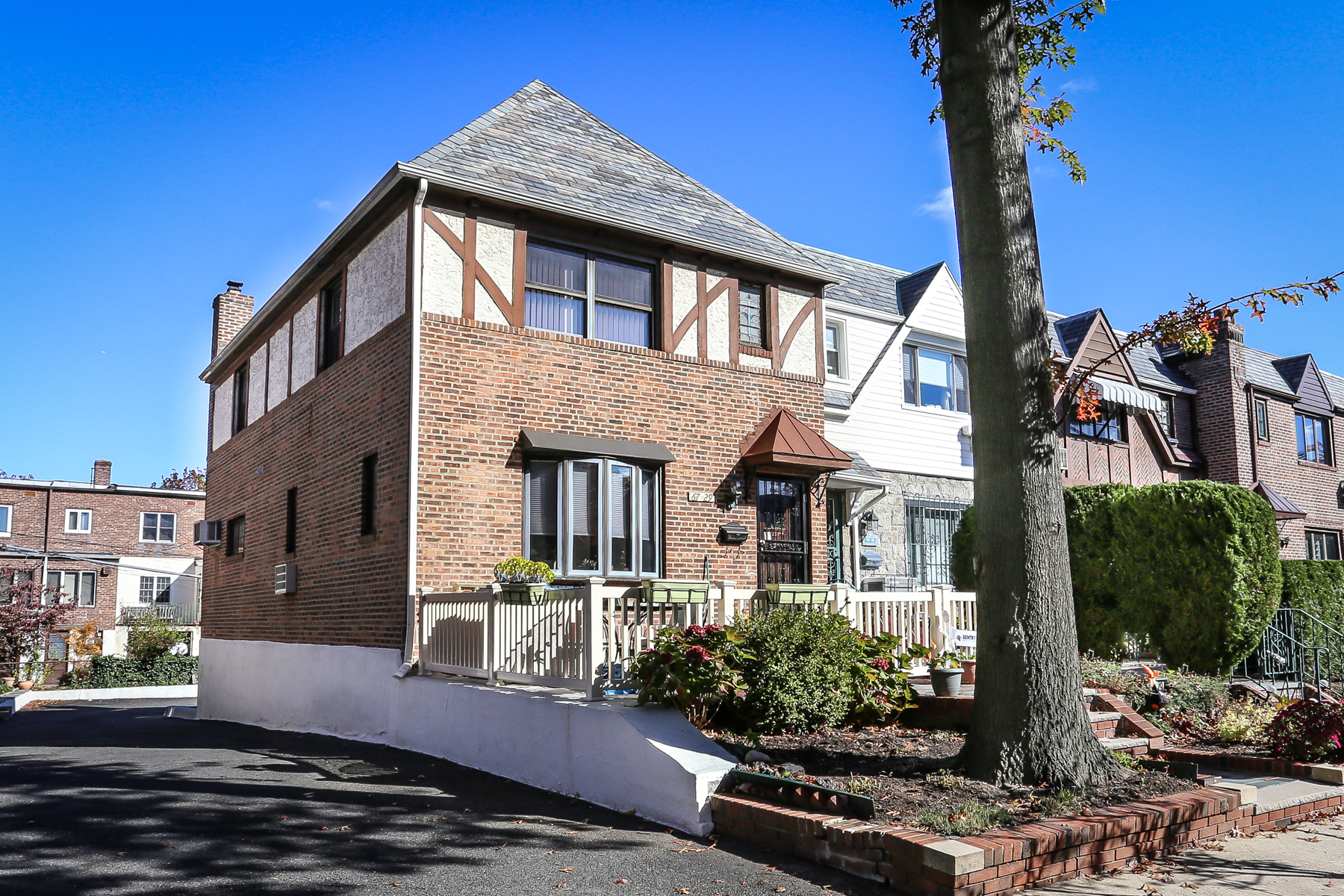 "Townhouse for Sale at ""SEMI-ATTACHED BRICK TOWNHOUSE"" 67-29 Kessel Street, Forest Hills, New York 11375 United States"