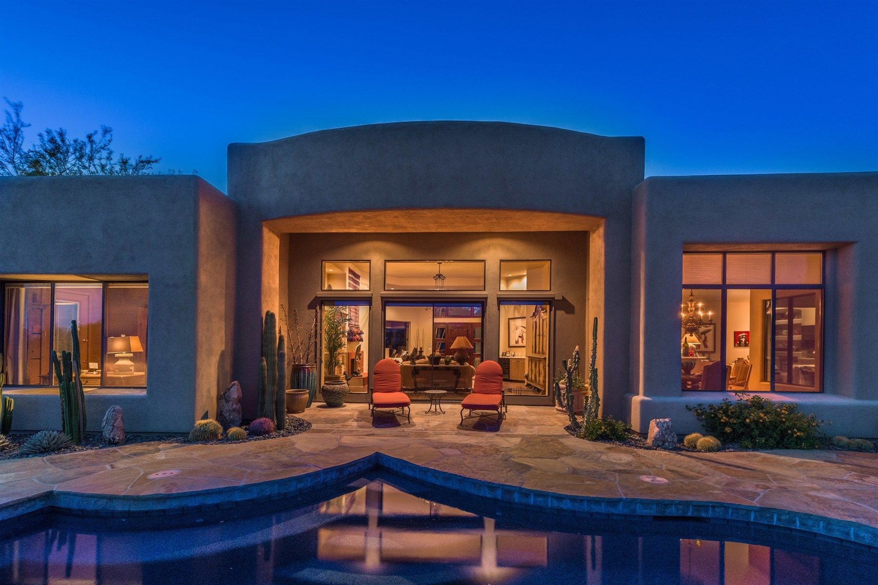 sales property at Perfectly situated home in Desert Highlands