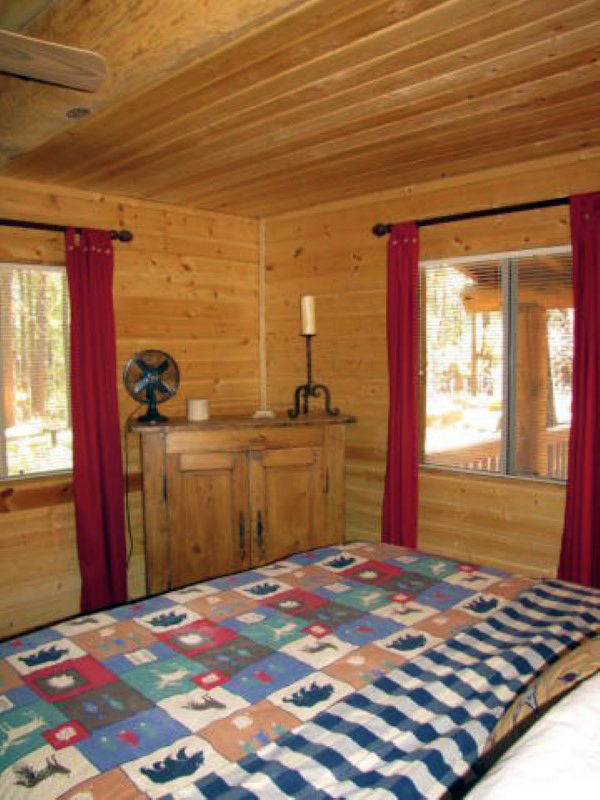 Property Of Beautiful Log Cabin in Most Desirable Guard Gated White Mountain Summer Homes