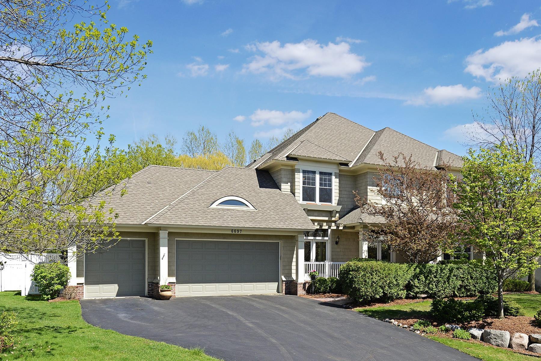 단독 가정 주택 용 매매 에 6697 Pointe Lake Lucy Chanhassen, 미네소타, 55317 미국