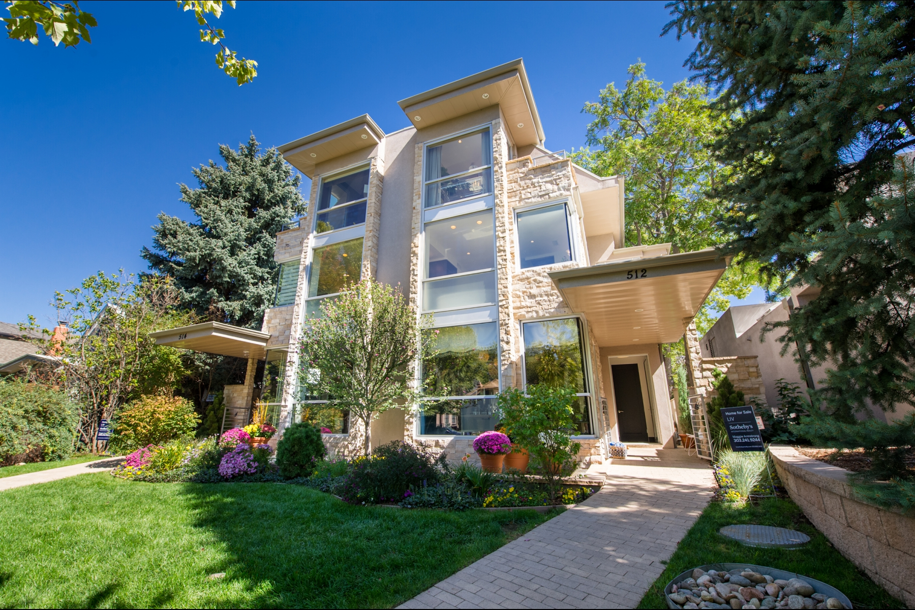 Townhouse for Sale at 2015 Designer Showhouse Home 512 Cook Street Cherry Creek, Denver, Colorado 80206 United States