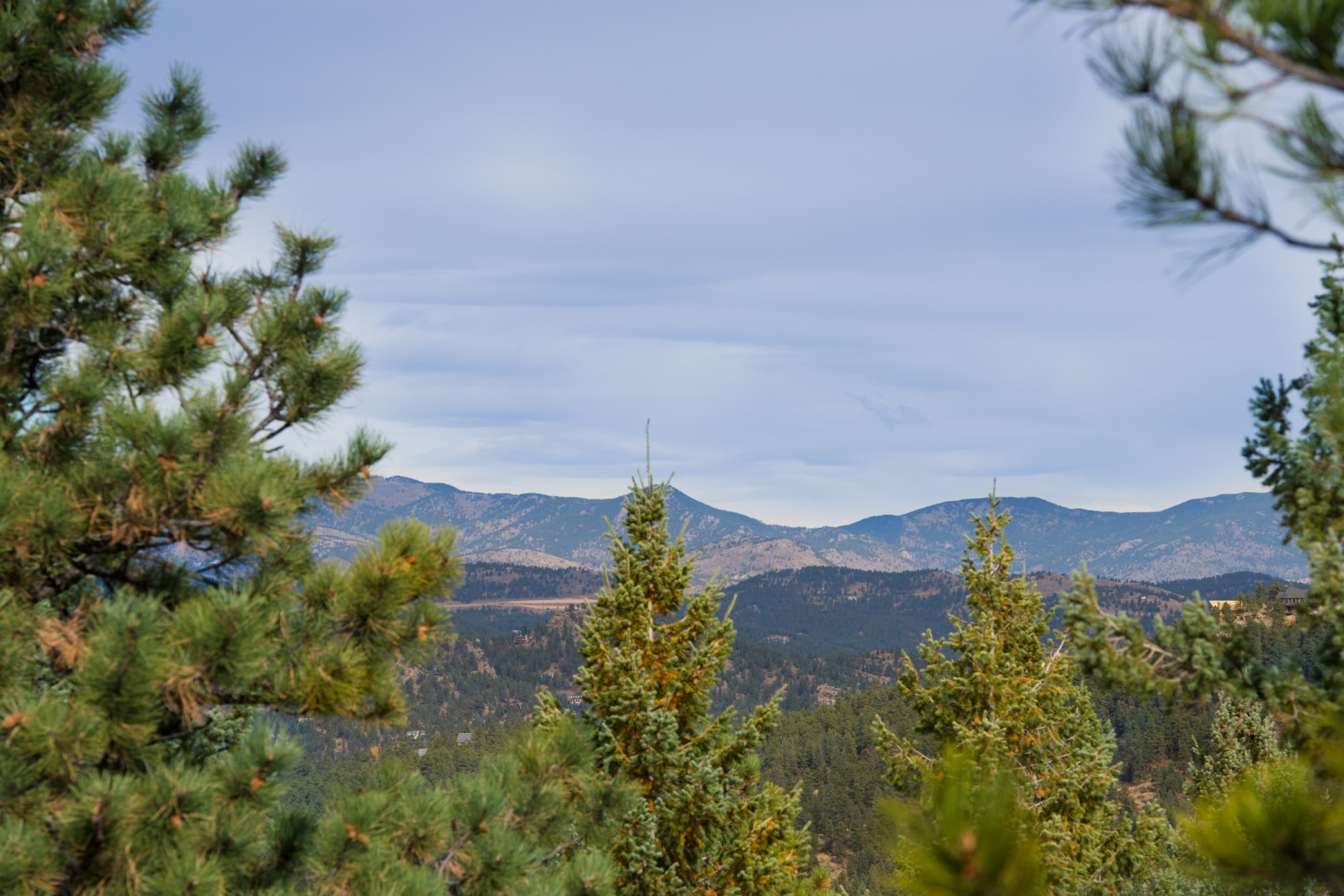 Land for Sale at Exceptional Building Site with Snow Capped Views 6008 Flat Creek Drive Evergreen, Colorado 80439 United States