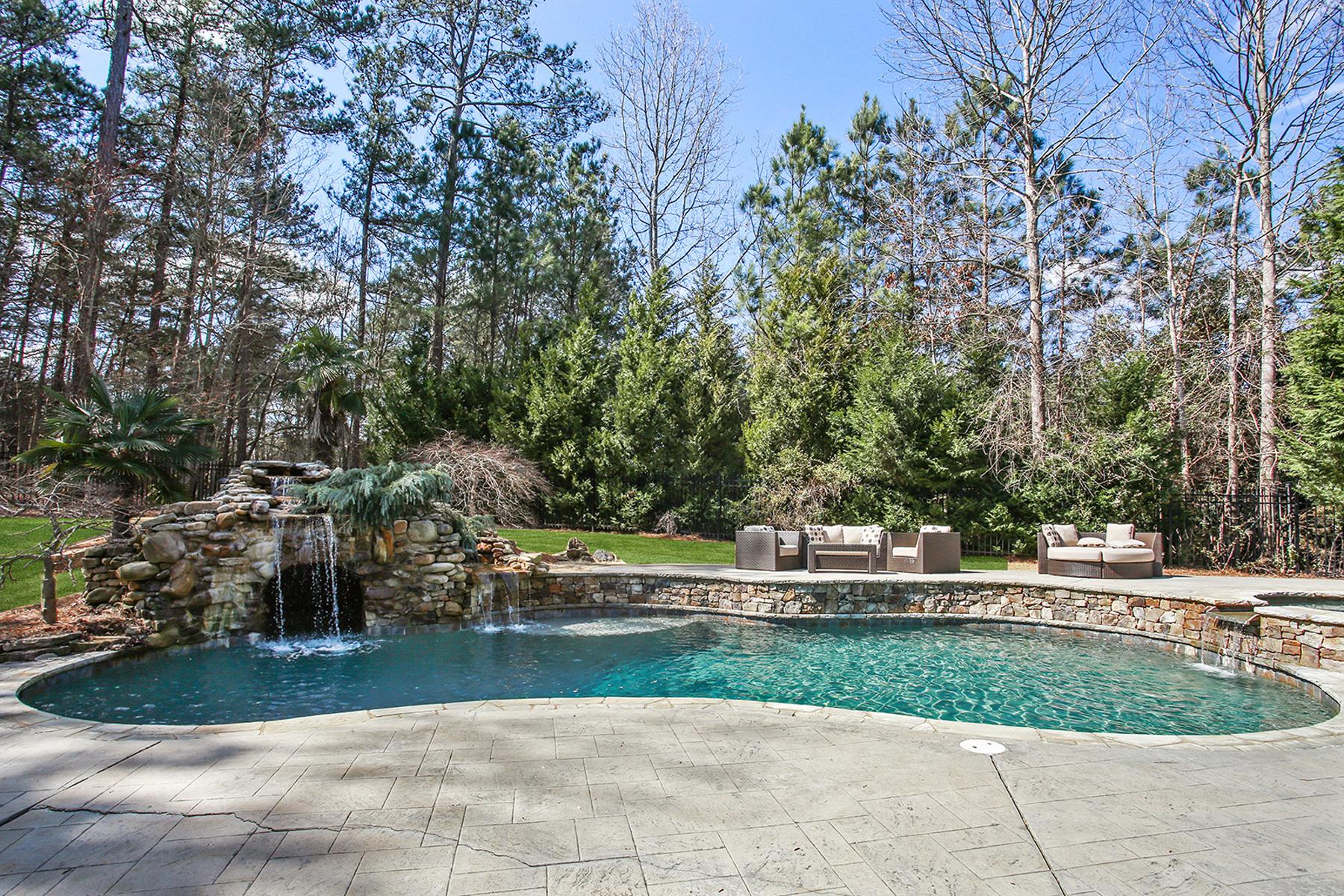 独户住宅 为 销售 在 Majestic European Estate 130 Ardsley Lane 阿法乐特, 乔治亚州, 30005 美国