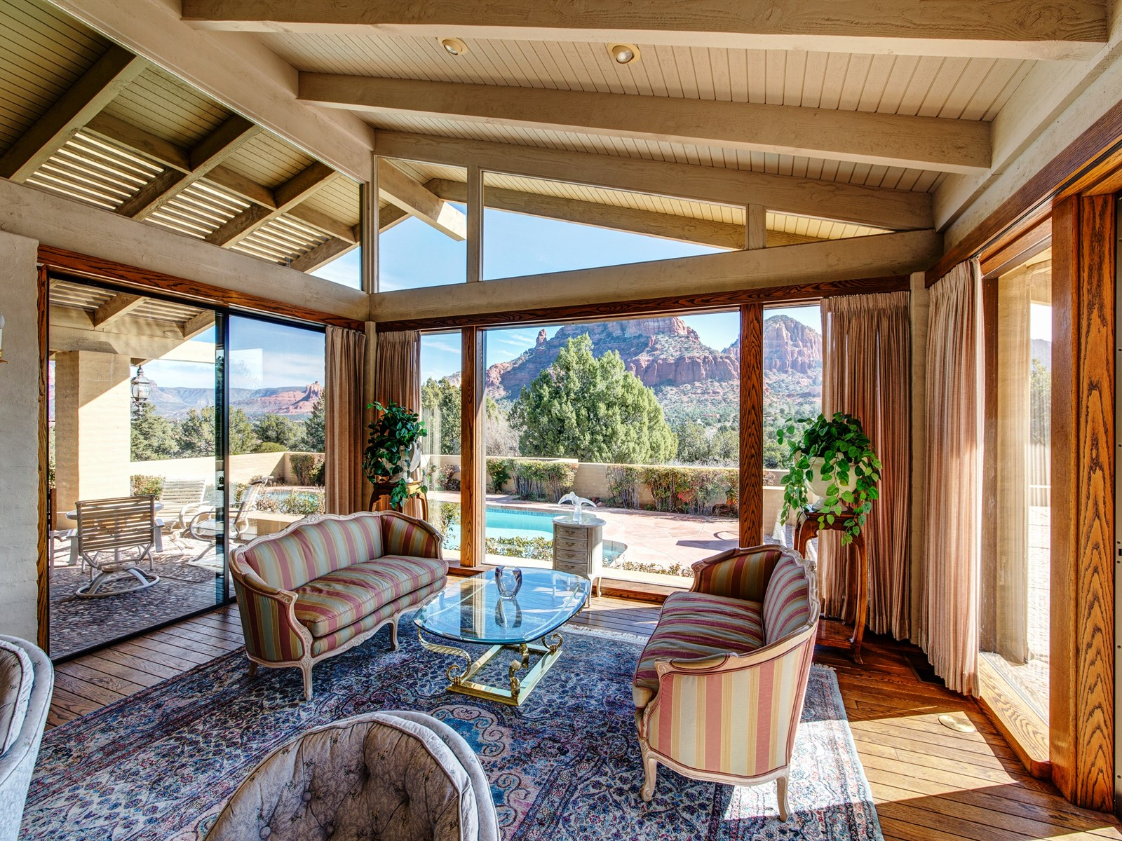 Single Family Home for Sale at Remarkable Sedona Home 130 Sky Line Sedona, Arizona 86336 United States