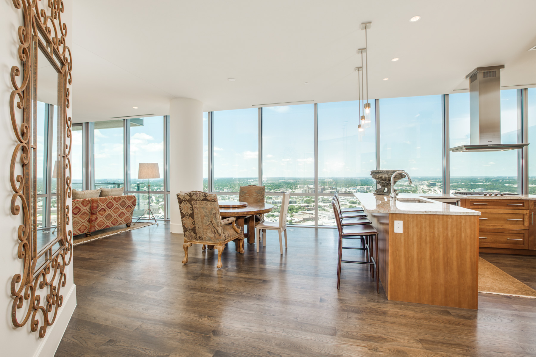 Condominium for Sale at Amazing Views from this Premier Fort Worth Downtown Condo 1301 Throckmorton Street #3004 Fort Worth, Texas 76102 United States