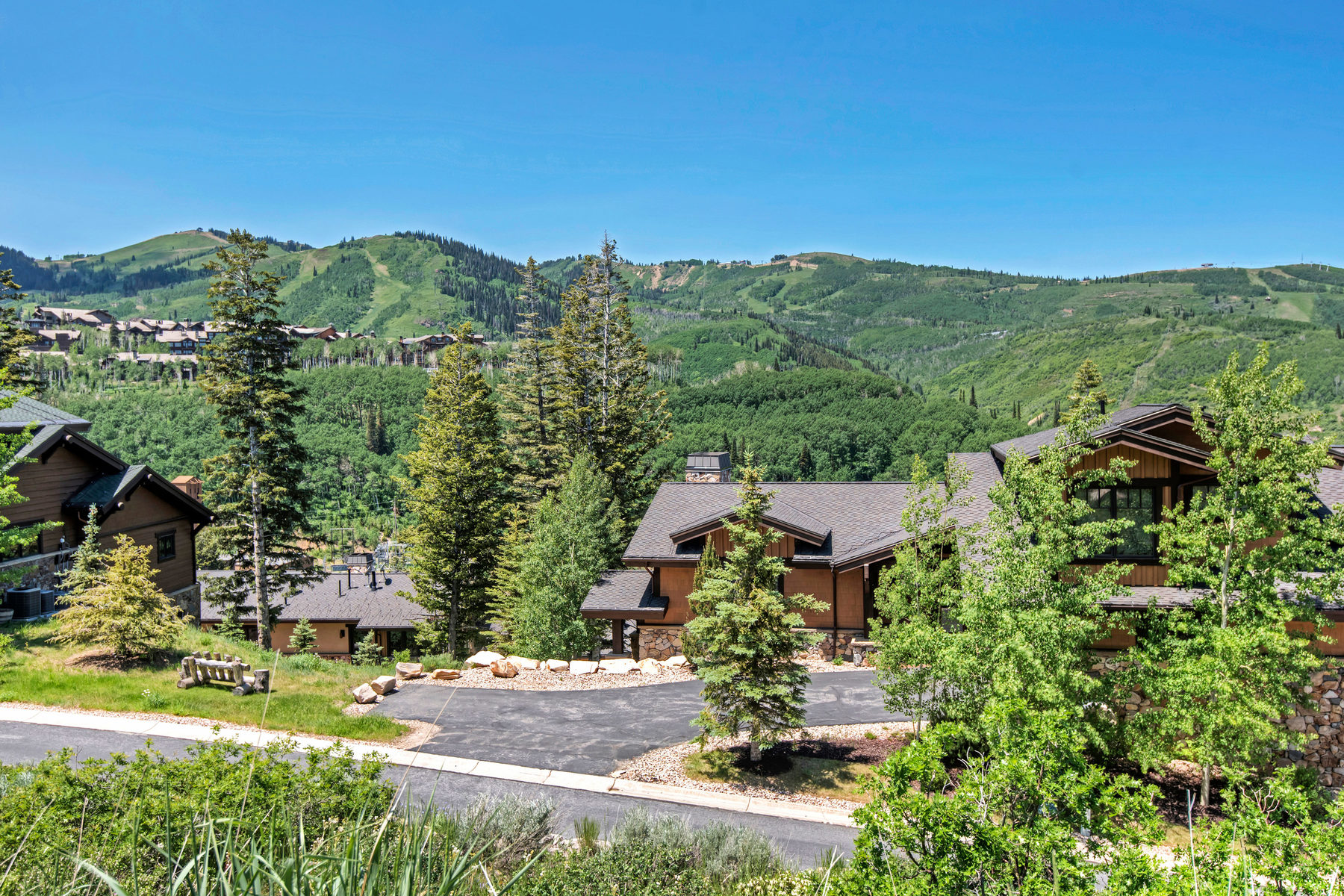 Maison de ville pour l Vente à Awesome Unit with Unobstructed Views 6597 Lookout Dr #9 Park City, Utah, 84060 États-Unis