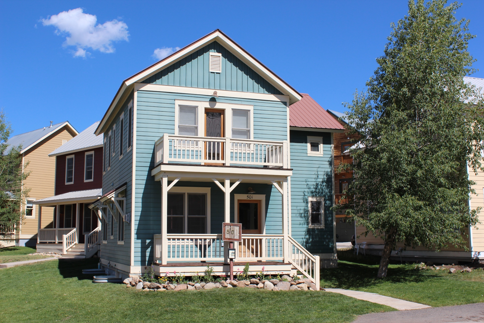 Single Family Home for Sale at Desirable Mountain Living 501 Horseshoe Drive Mount Crested Butte, Colorado 81225 United States