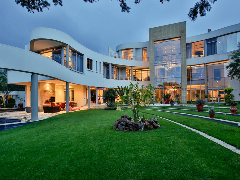 Single Family Home for Sale at A glittering showpiece! Panoramic views Johannesburg, Gauteng 2191 South Africa