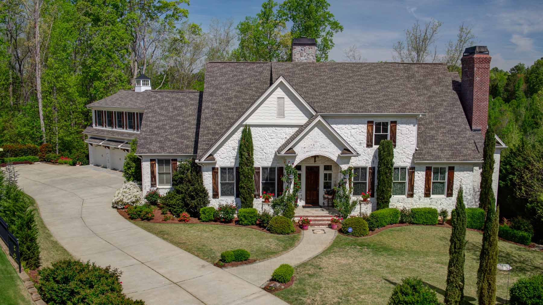 Single Family Home for Sale at Enjoy Hamptons Style in Roswell 1080 Balmoral Lane Roswell, Georgia, 30075 United States