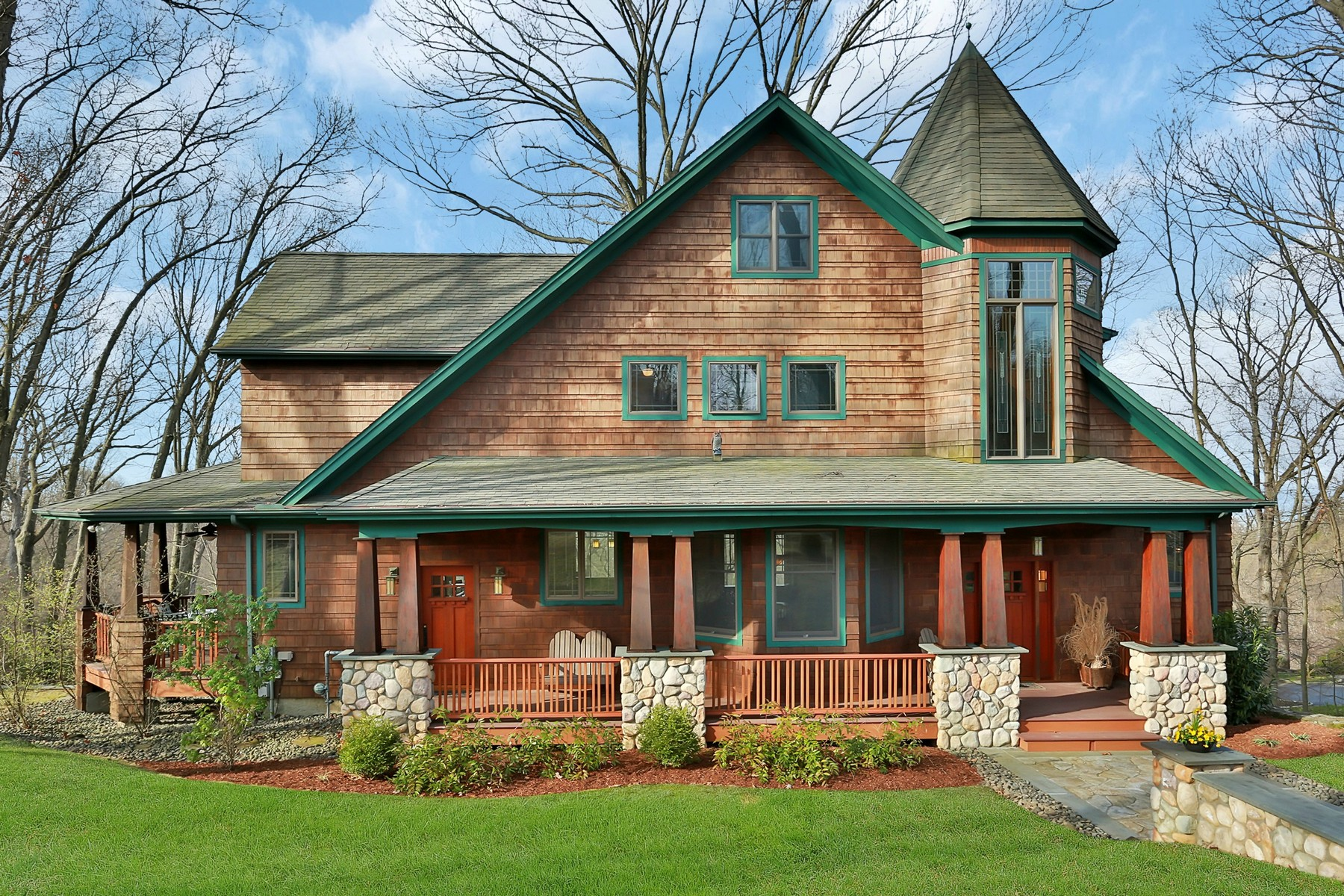 sales property at Craftsman Elegance with Stunning Hudson River Views