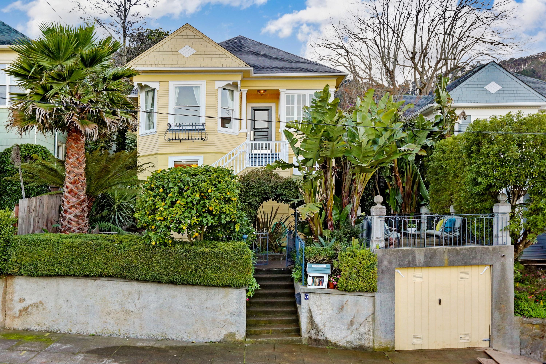 Einfamilienhaus für Verkauf beim Banana Belt Vacation 5 Bonita Street Sausalito, Kalifornien 94965 Vereinigte Staaten