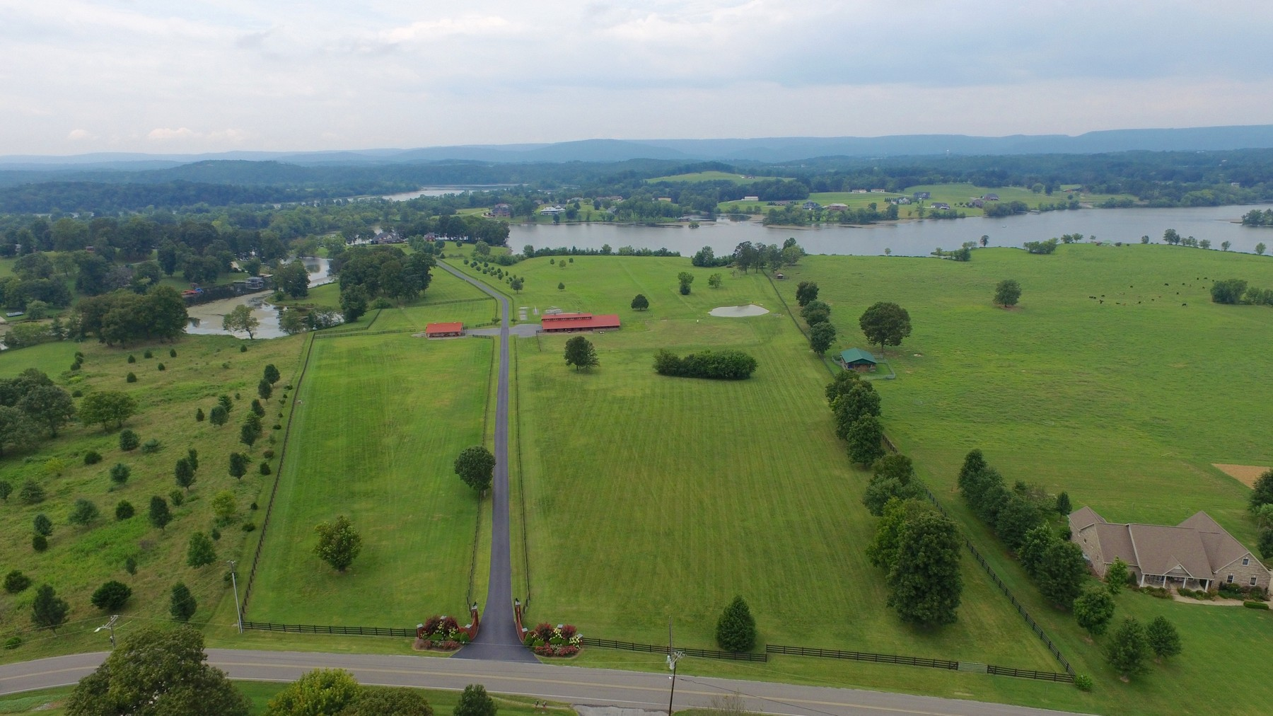 Property For Sale at Exquisite Equestrian Farm on the banks of Lake Chickamauga